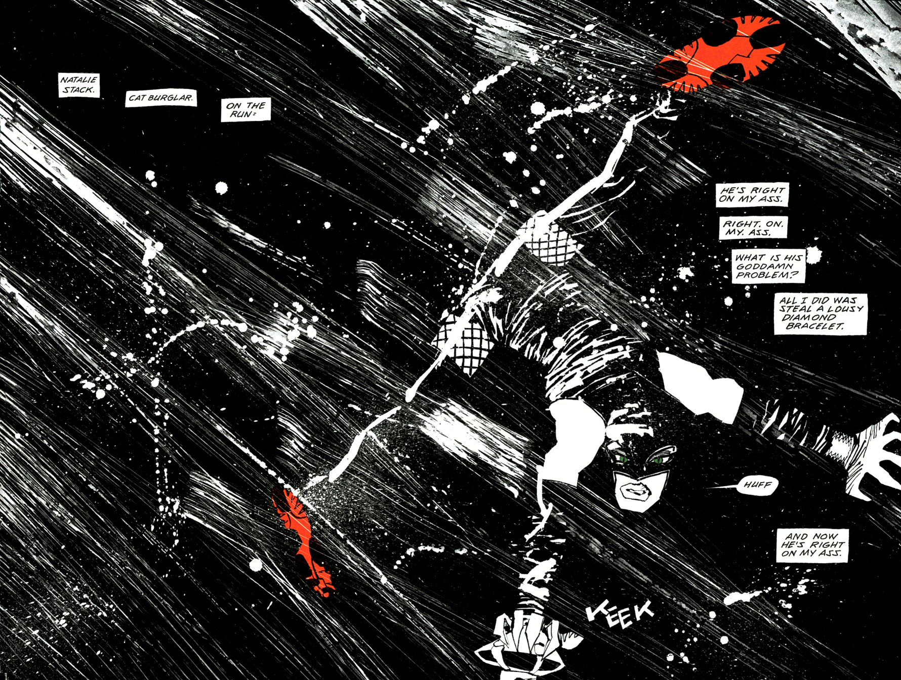 Read online Frank Miller's Holy Terror comic -  Issue # TPB - 16