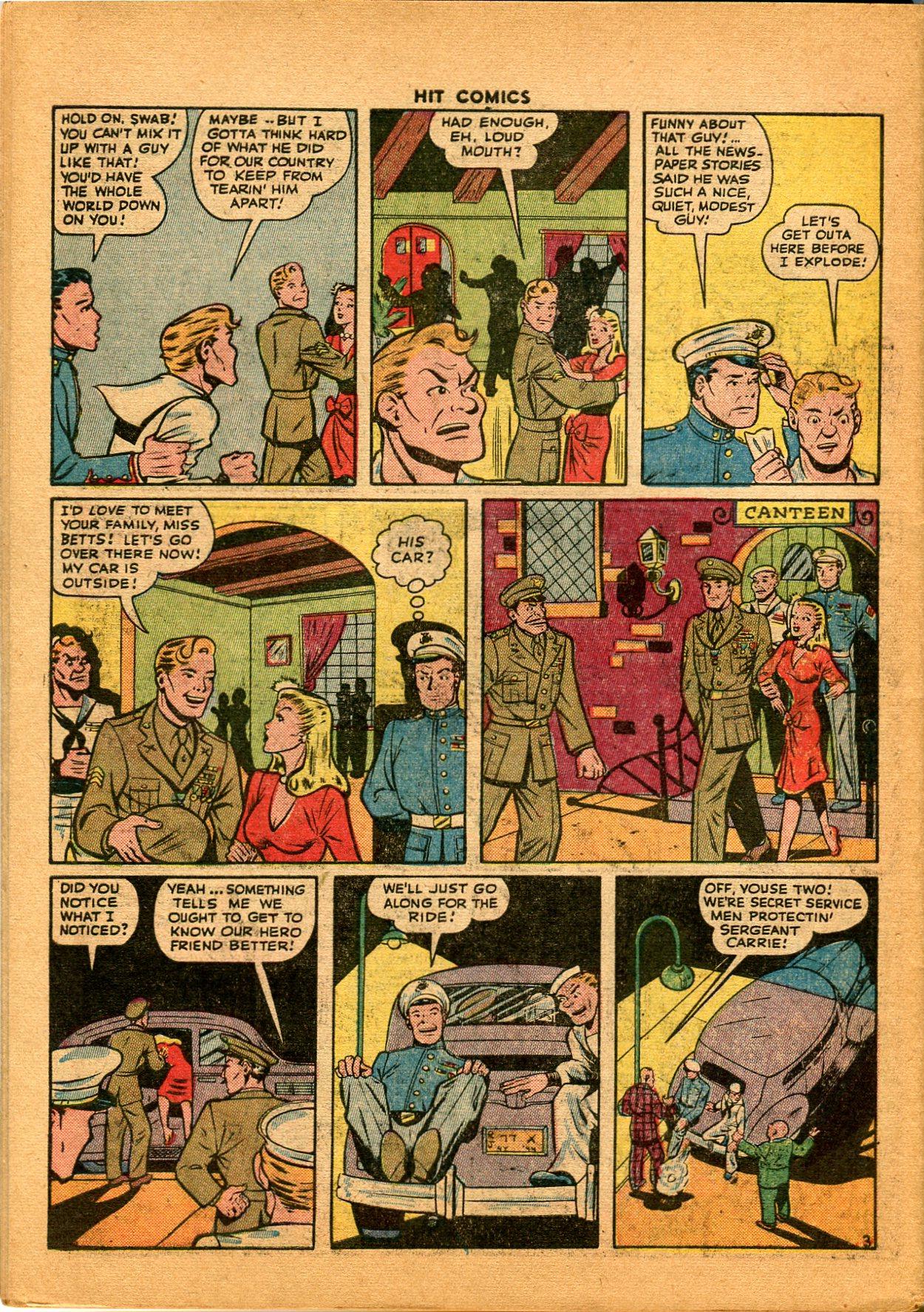 Read online Hit Comics comic -  Issue #35 - 50