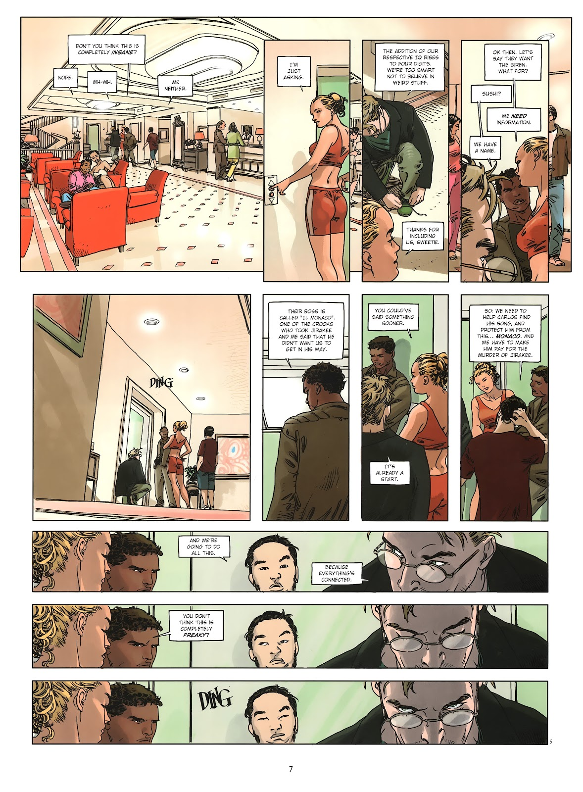 Read online Cutting Edge (2013) comic -  Issue #2 - 7