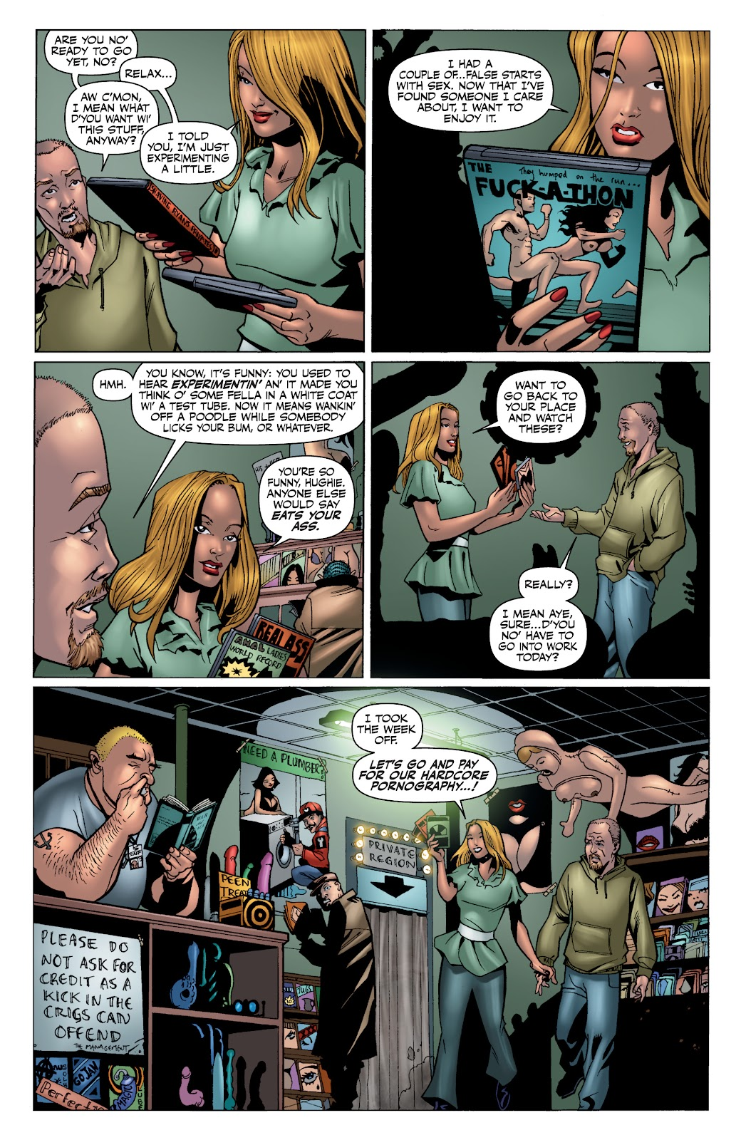 Read online The Boys Omnibus comic -  Issue # TPB 4 (Part 1) - 17