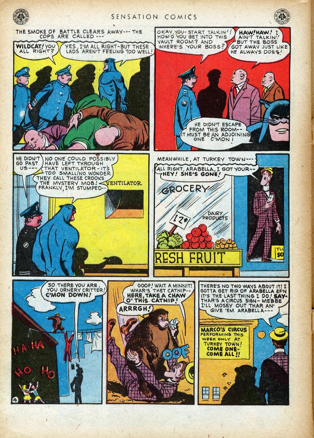 Read online Sensation (Mystery) Comics comic -  Issue #40 - 46