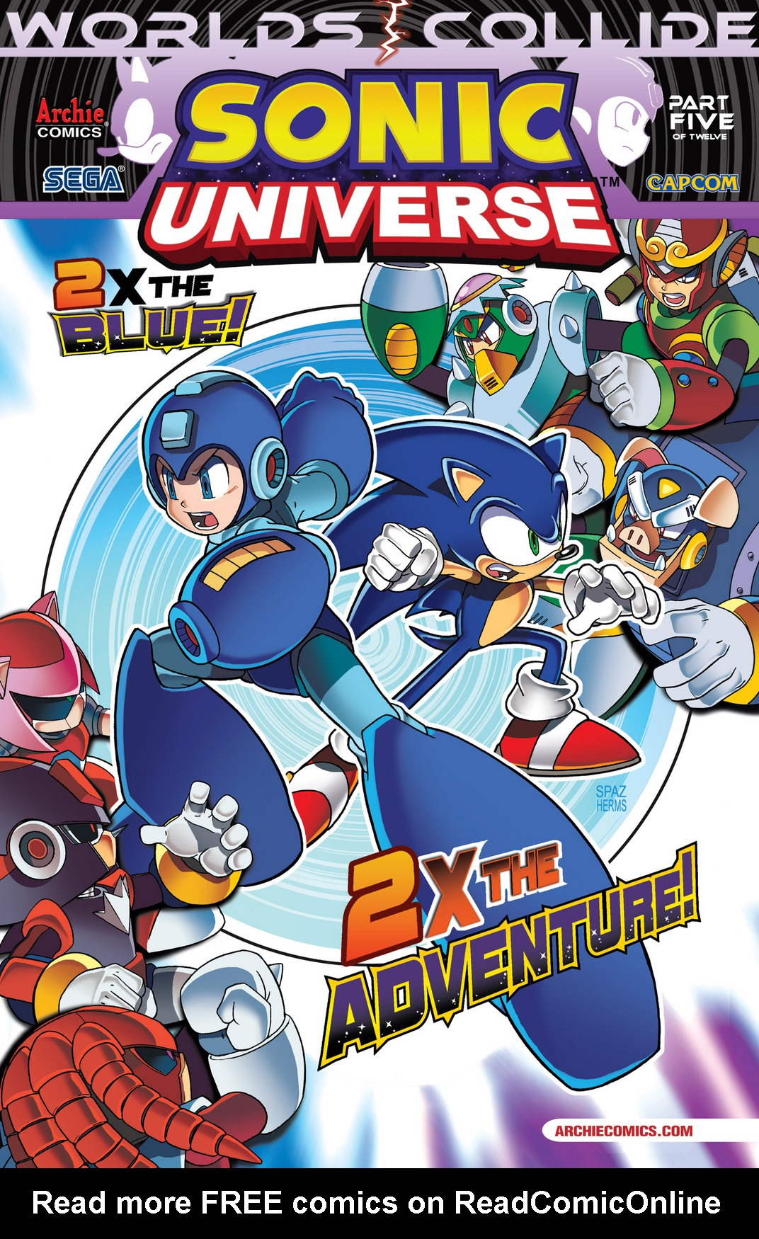 Read online Sonic Mega Man Worlds Collide comic -  Issue # Vol 2 - 8