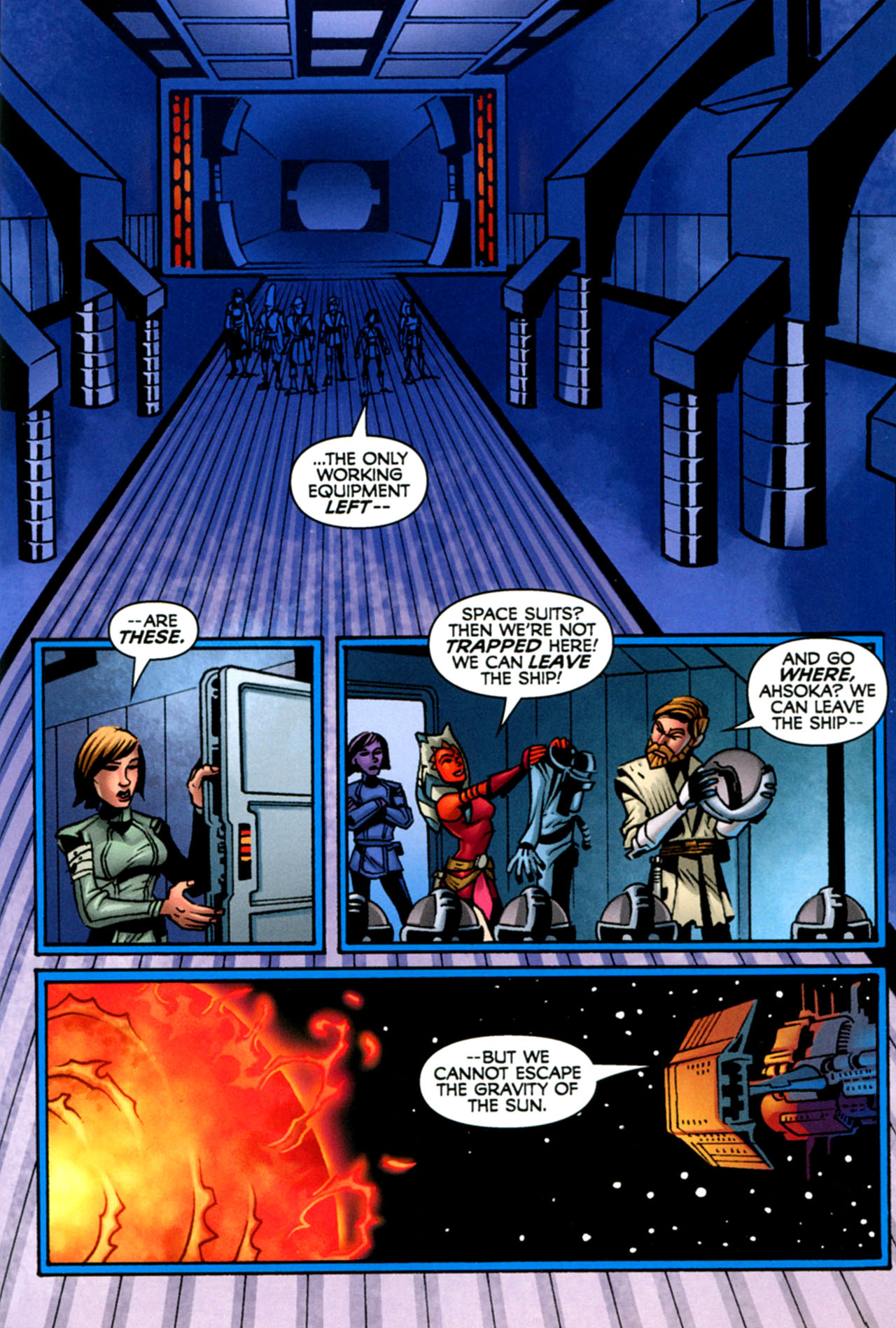 Read online Star Wars: The Clone Wars - The Starcrusher Trap comic -  Issue # Full - 54