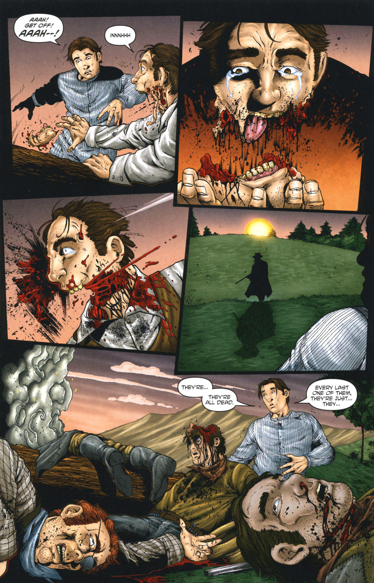 Read online Garth Ennis' Streets of Glory comic -  Issue #1 - 15