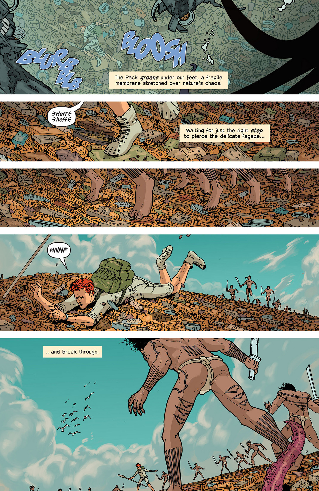Read online Great Pacific comic -  Issue #2 - 19