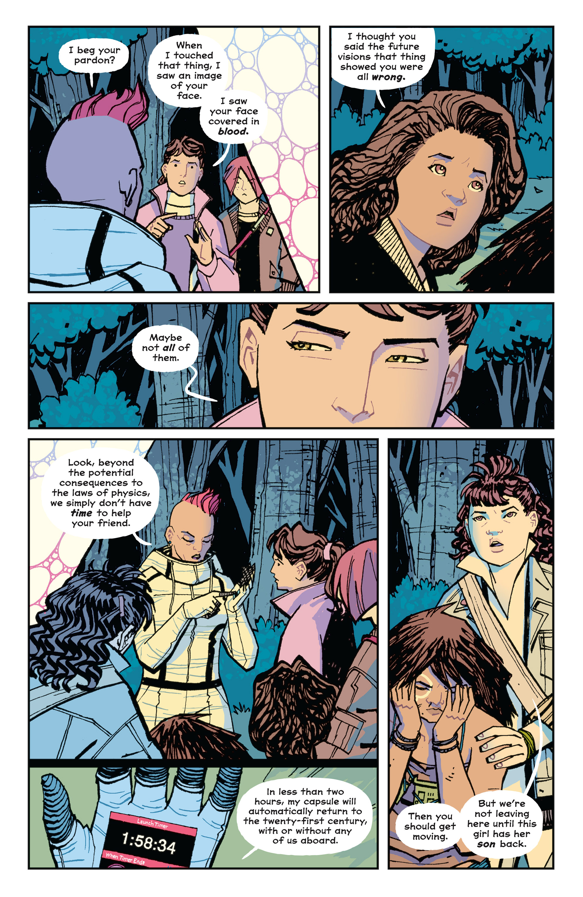 Read online Paper Girls comic -  Issue #15 - 8
