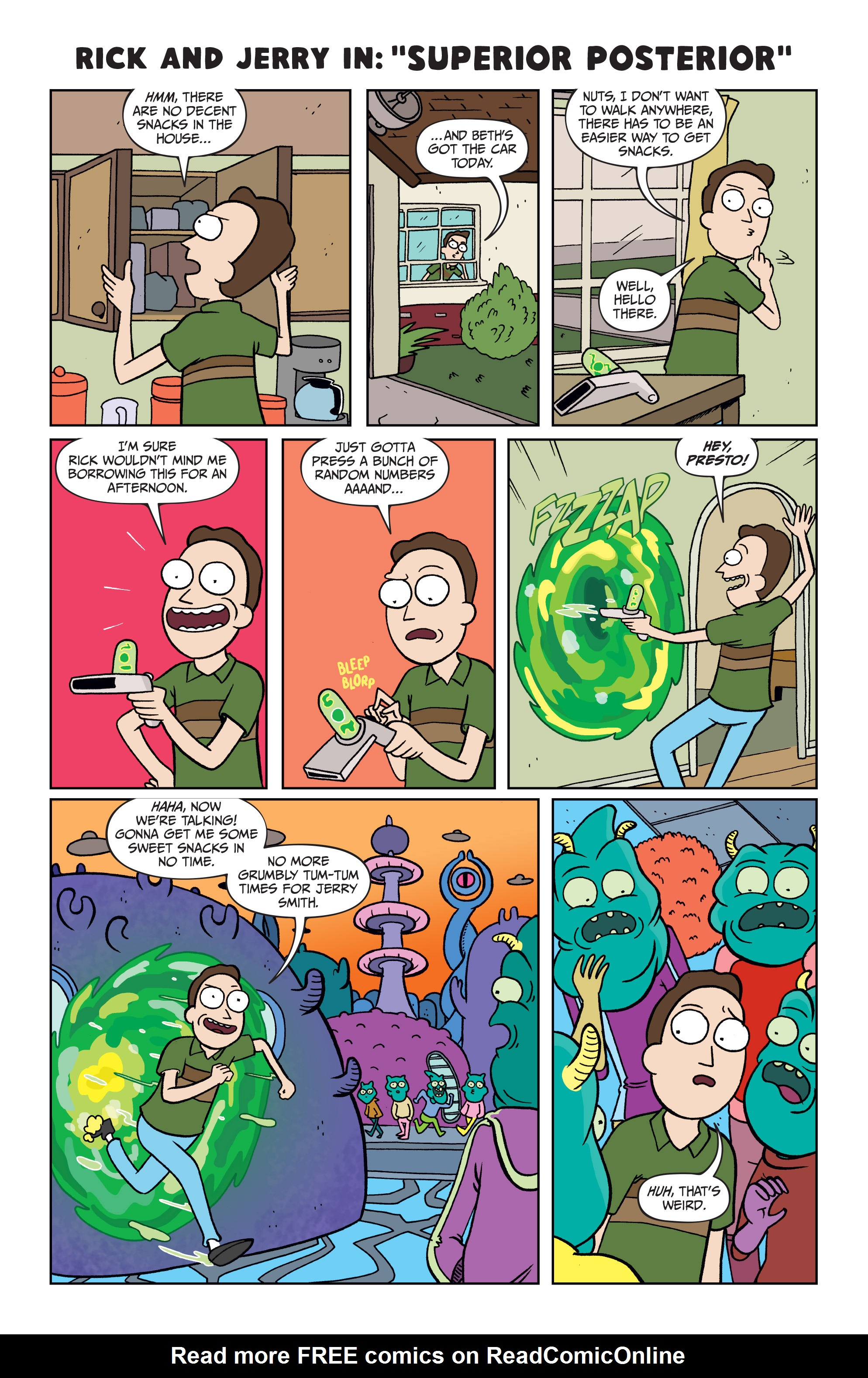 Read online Rick and Morty comic -  Issue #25 - 21