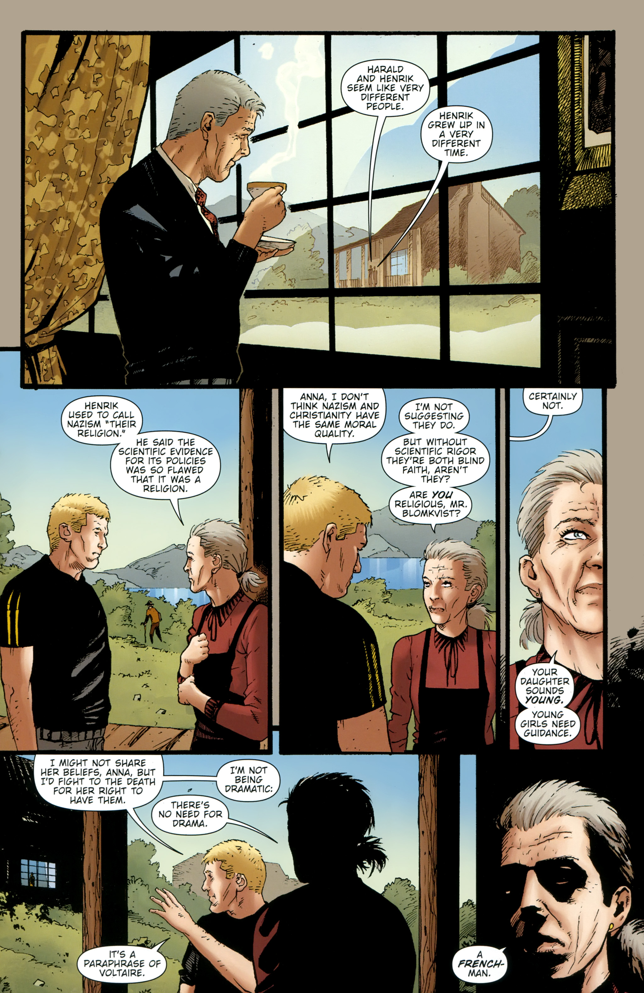 Read online The Girl With the Dragon Tattoo comic -  Issue # TPB 2 - 30