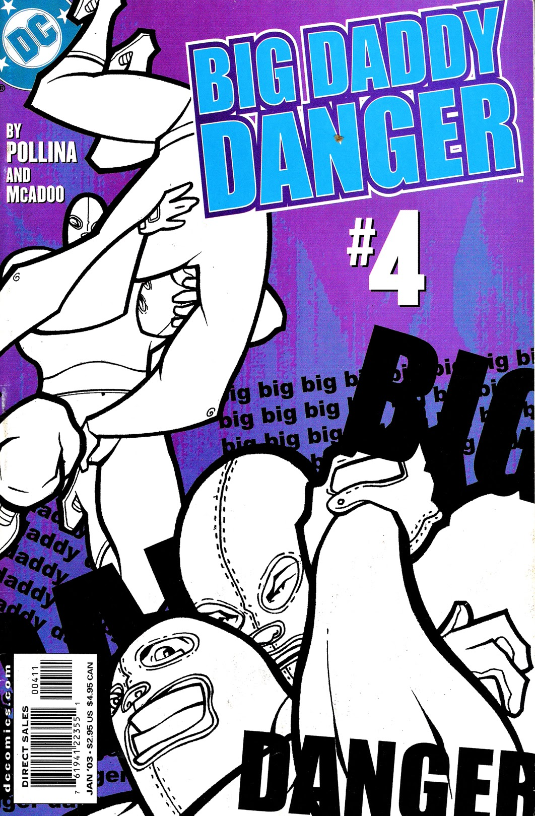 Big Daddy Danger 4 Page 1