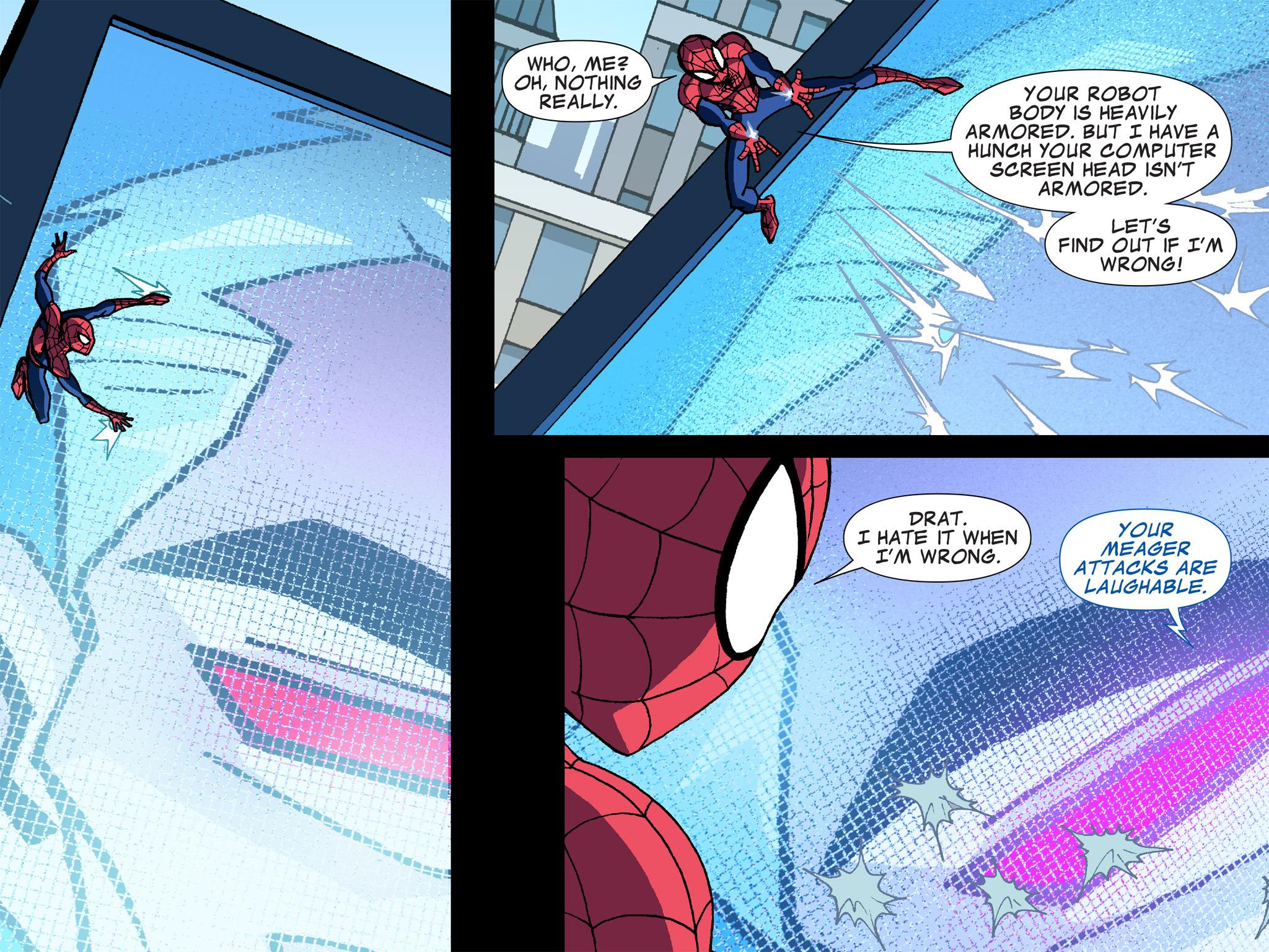 Read online Ultimate Spider-Man (Infinite Comics) (2015) comic -  Issue #6 - 15
