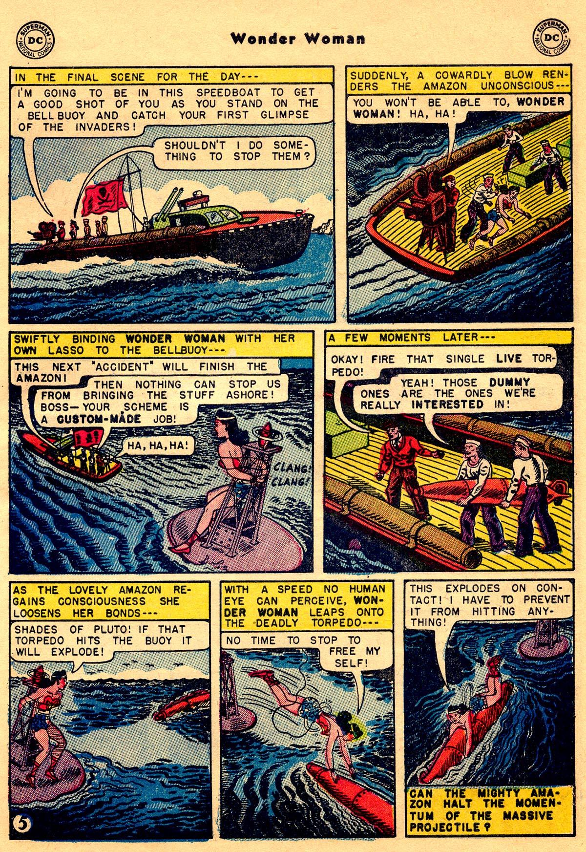 Read online Wonder Woman (1942) comic -  Issue #68 - 31