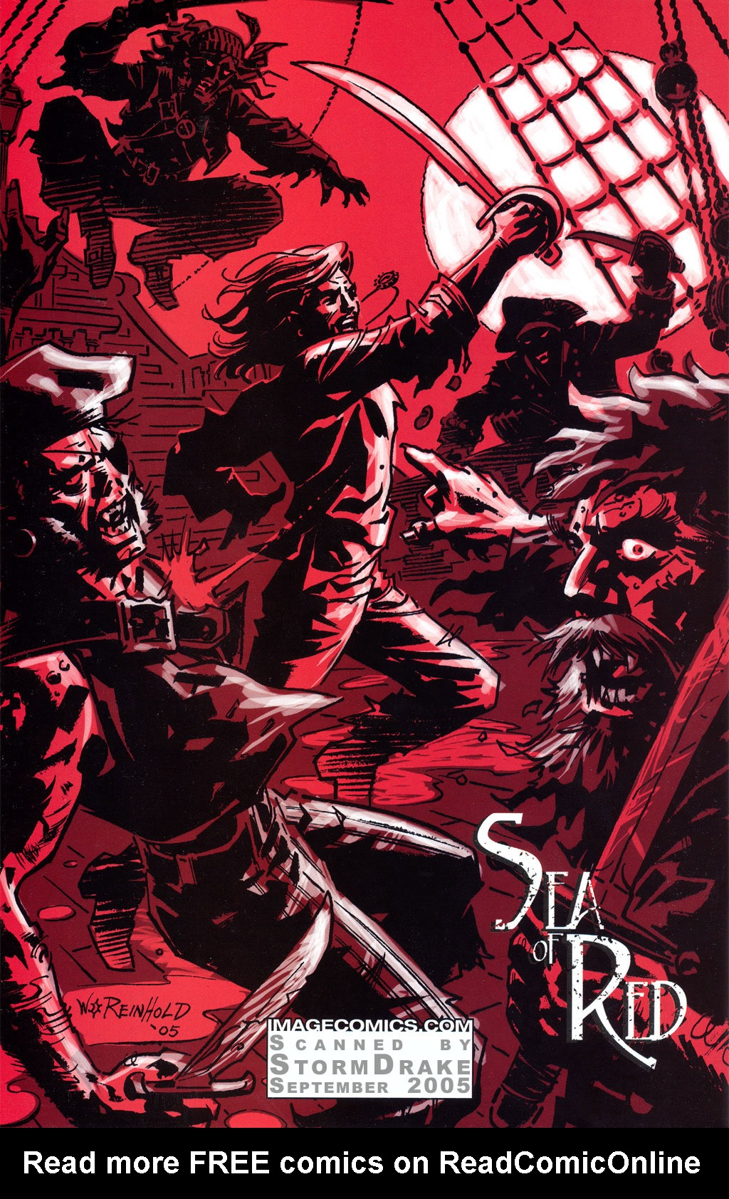 Read online Sea of Red comic -  Issue #4 - 34