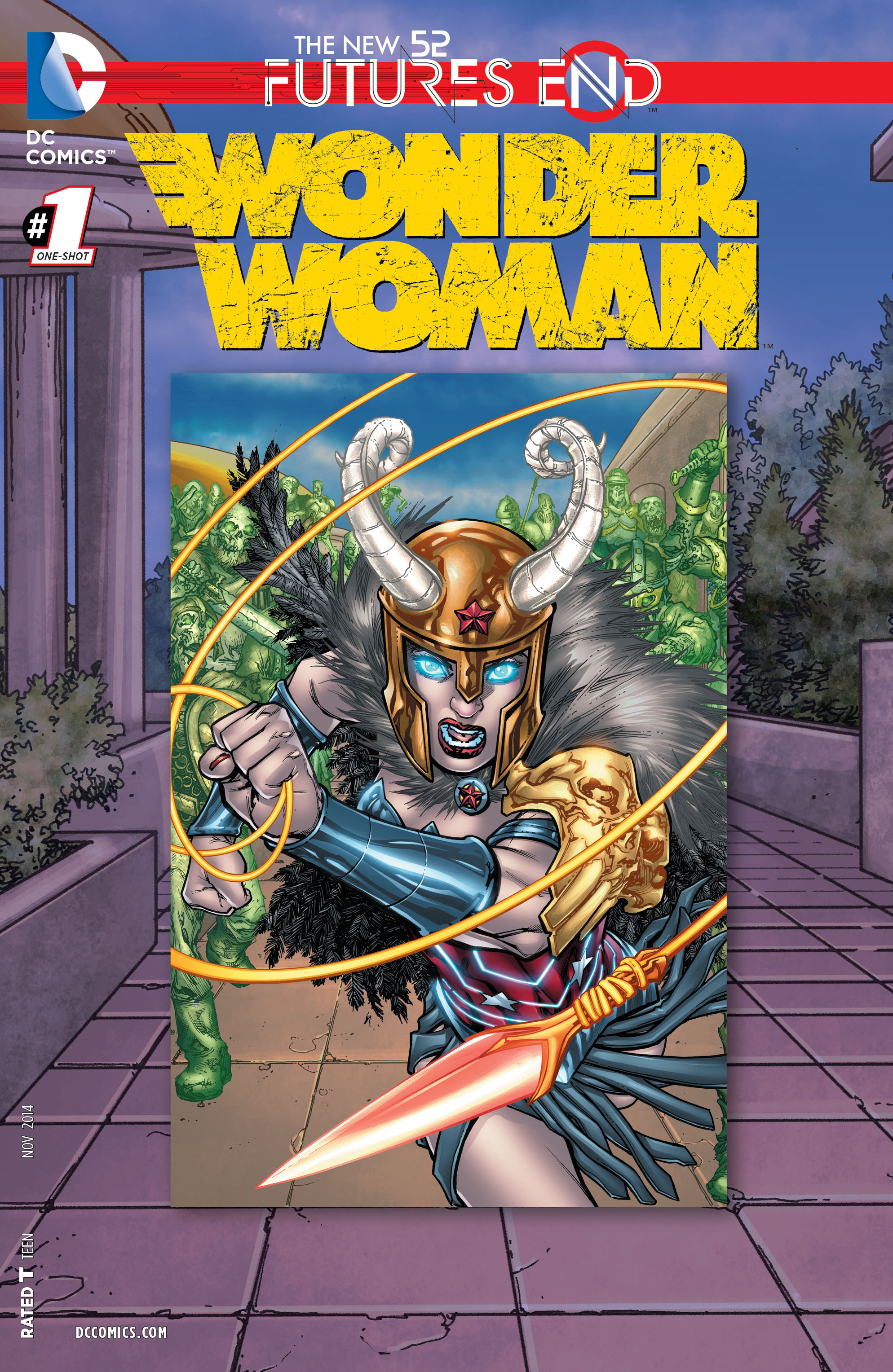 Read online Wonder Woman: Futures End comic -  Issue # Full - 1