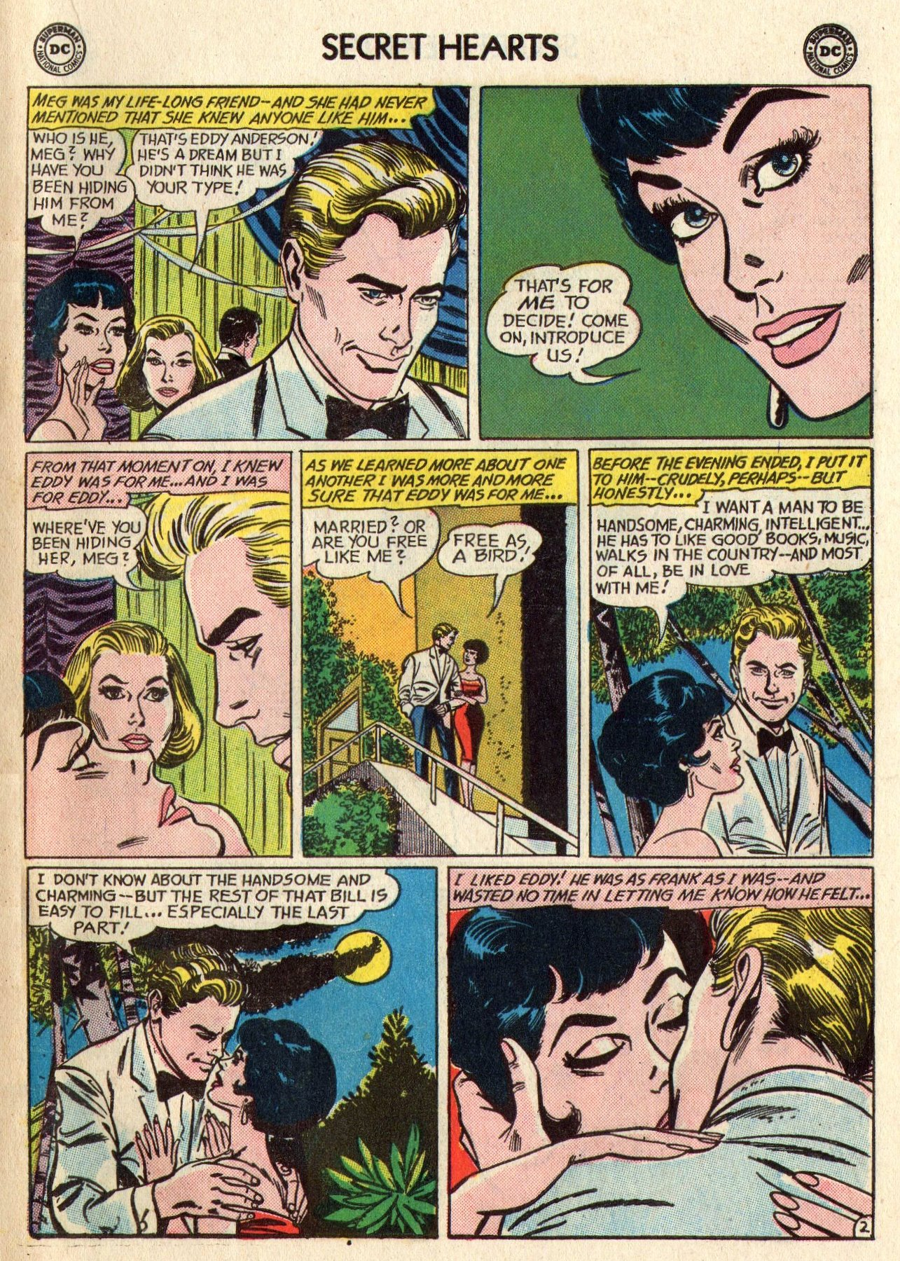Read online Secret Hearts comic -  Issue #95 - 19