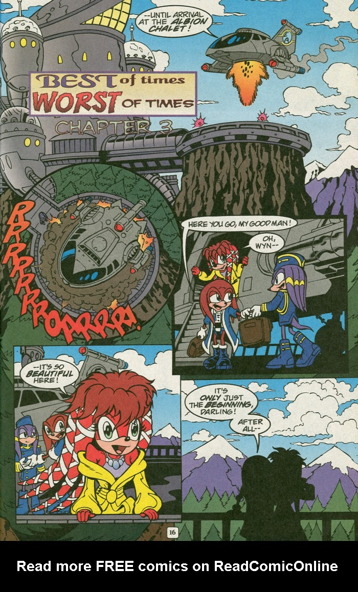 Read online Sonic Super Special comic -  Issue #14 - best of times - 29