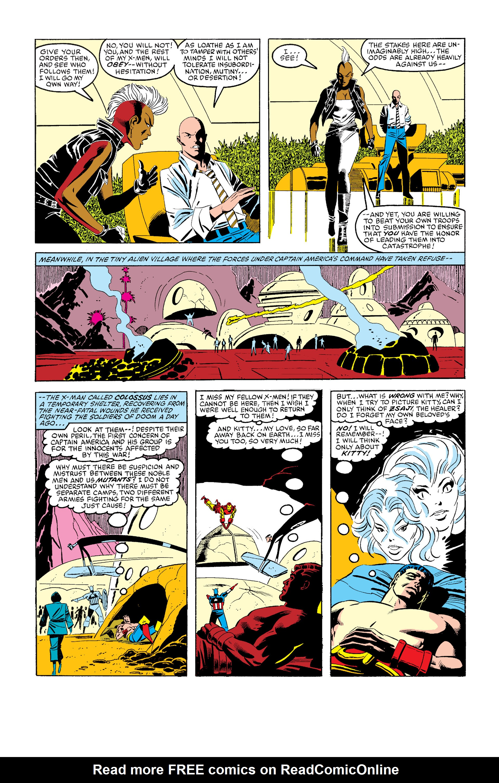 Read online Secret Wars (1985) comic -  Issue #6 - 13