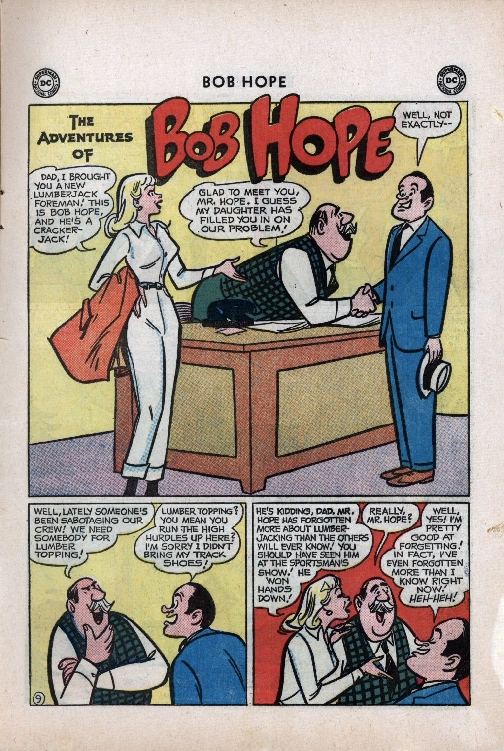 The Adventures of Bob Hope issue 59 - Page 13