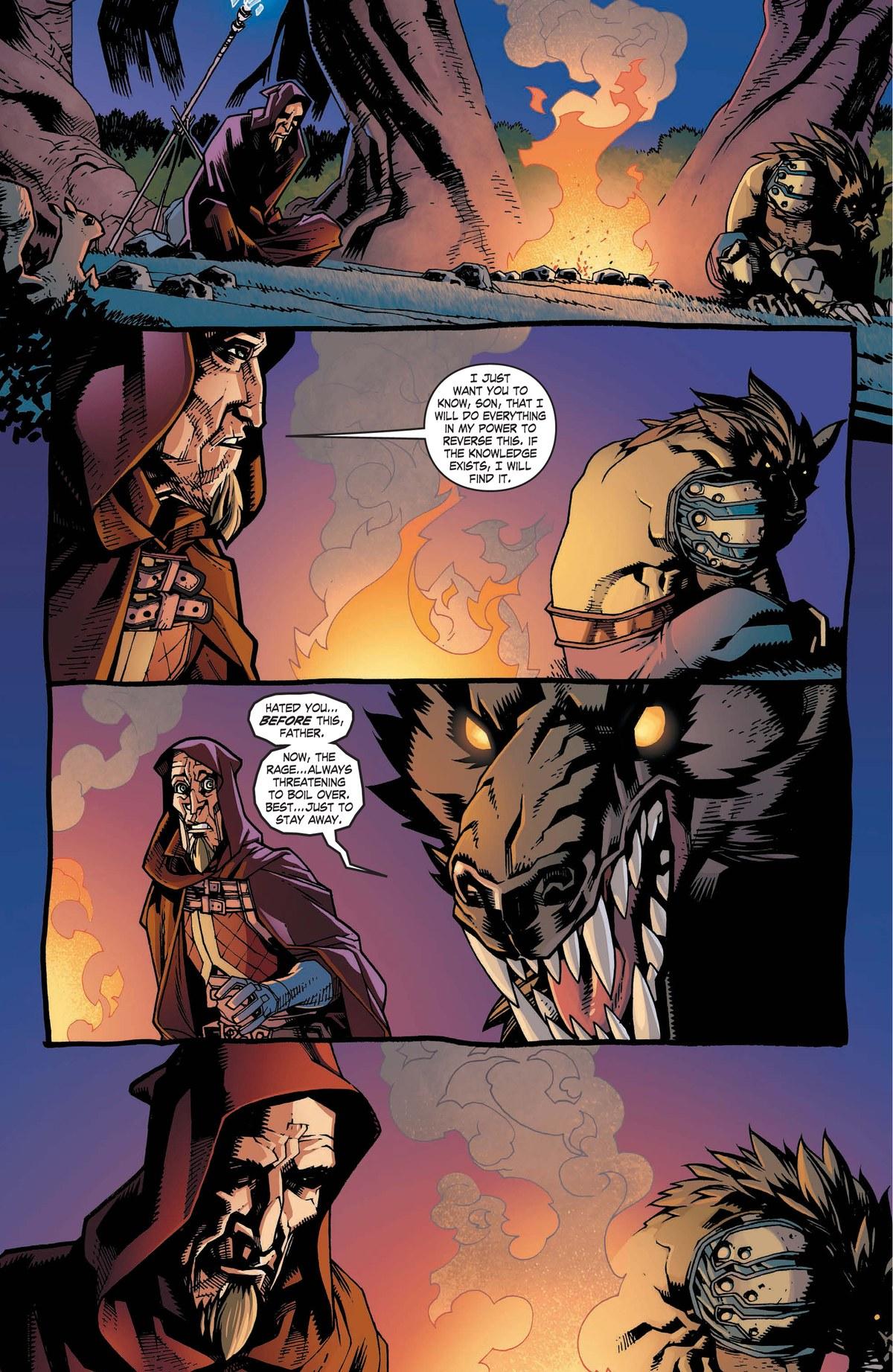 Read online World of Warcraft: Dark Riders comic -  Issue # Full - 90