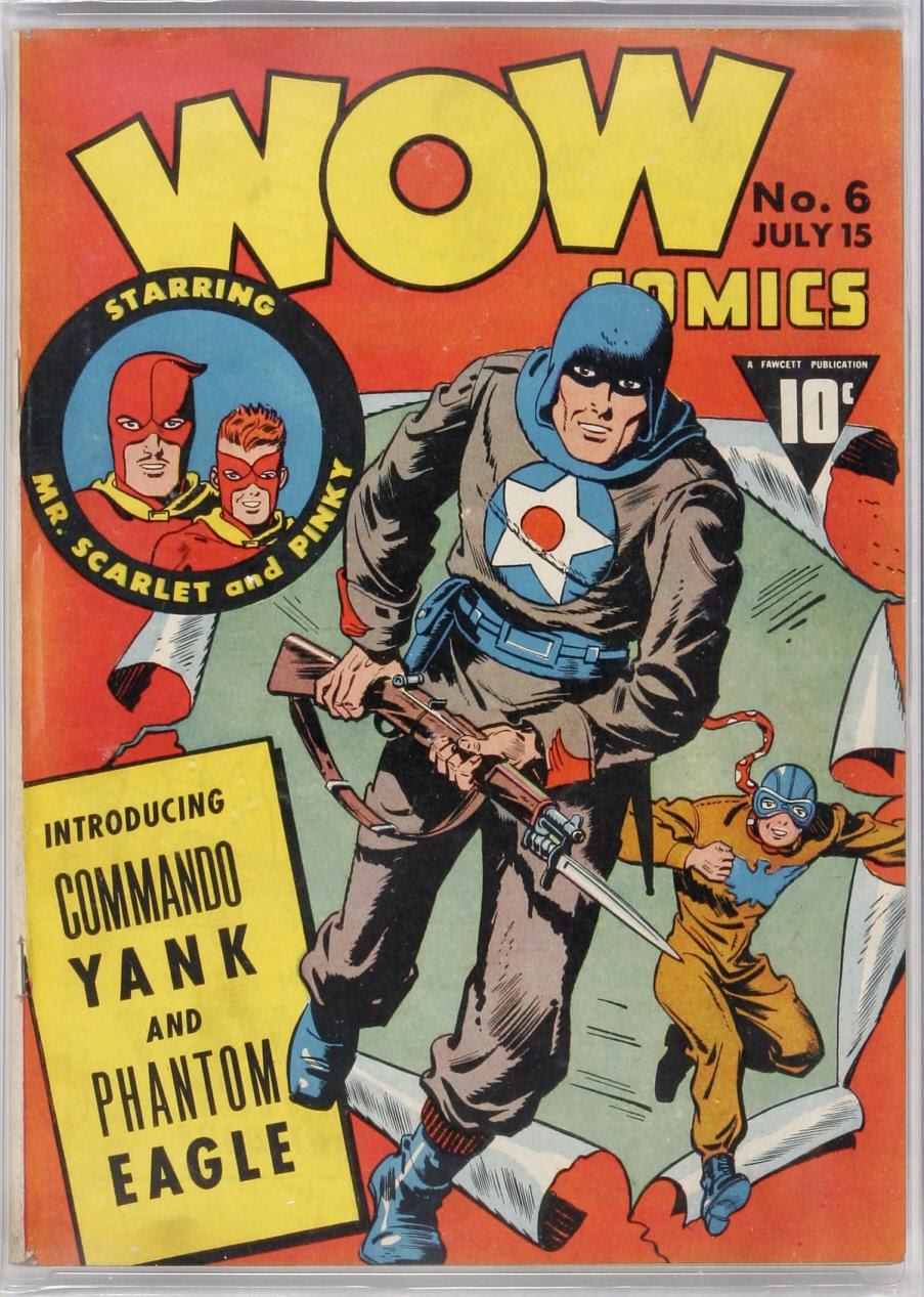 Wow Comics 6 Page 1