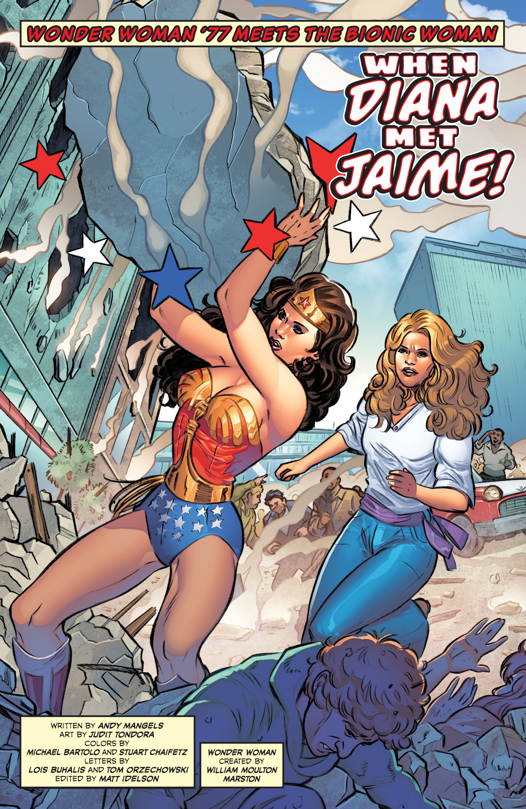 Read online Wonder Woman '77 Meets The Bionic Woman comic -  Issue #1 - 6