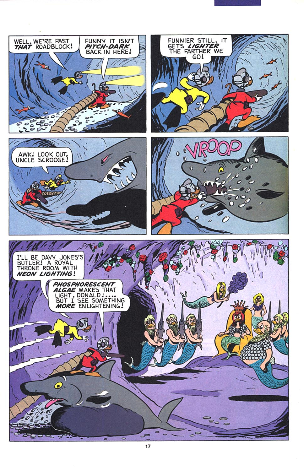 Read online Uncle Scrooge (1953) comic -  Issue #274 - 18