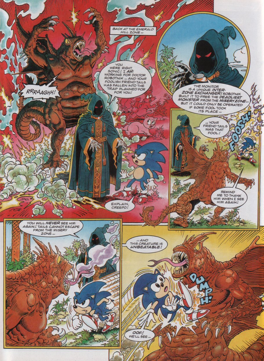 Read online Sonic the Comic comic -  Issue #32 - 5