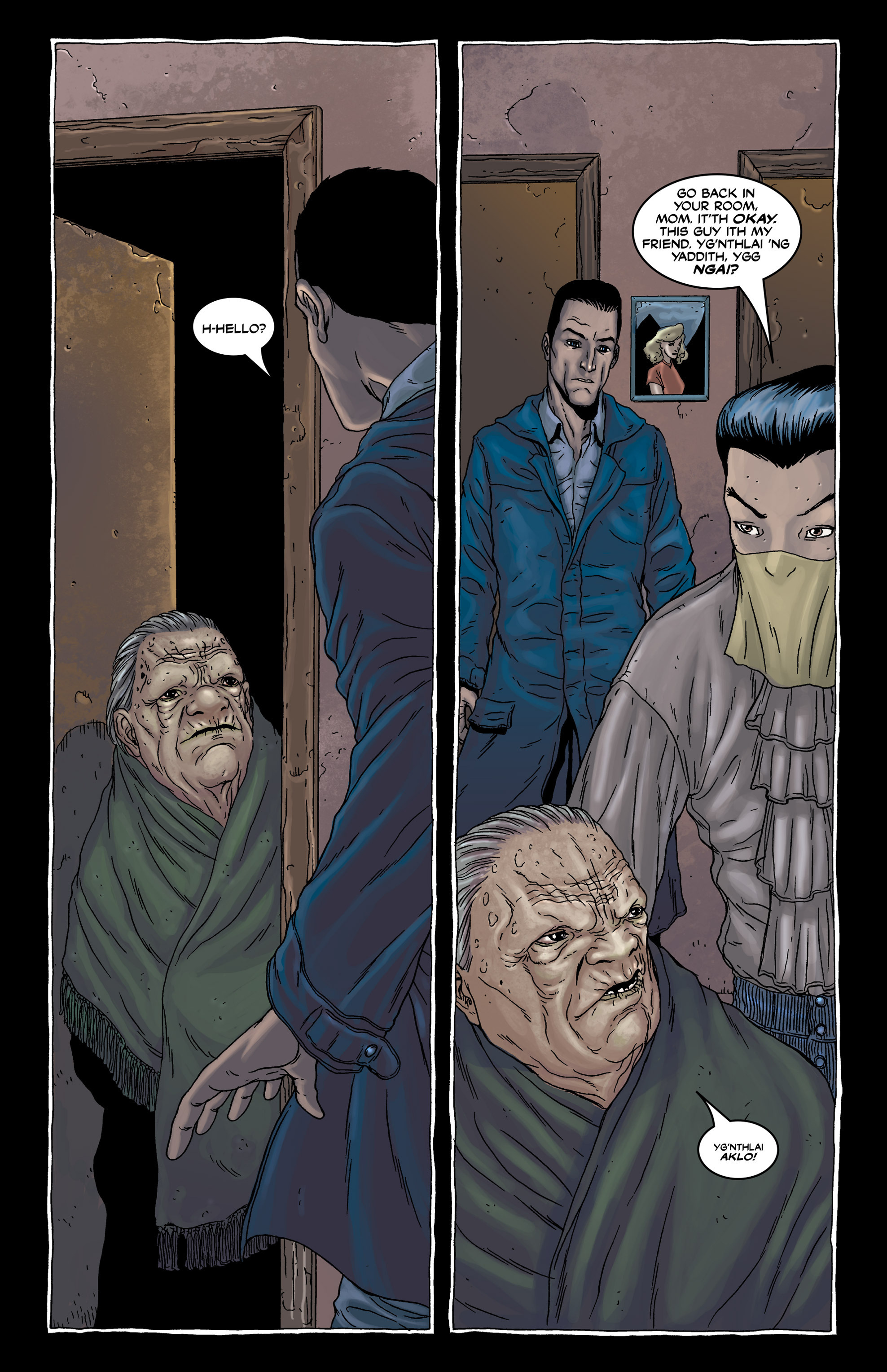 Read online Alan Moore's The Courtyard comic -  Issue # TPB - 36