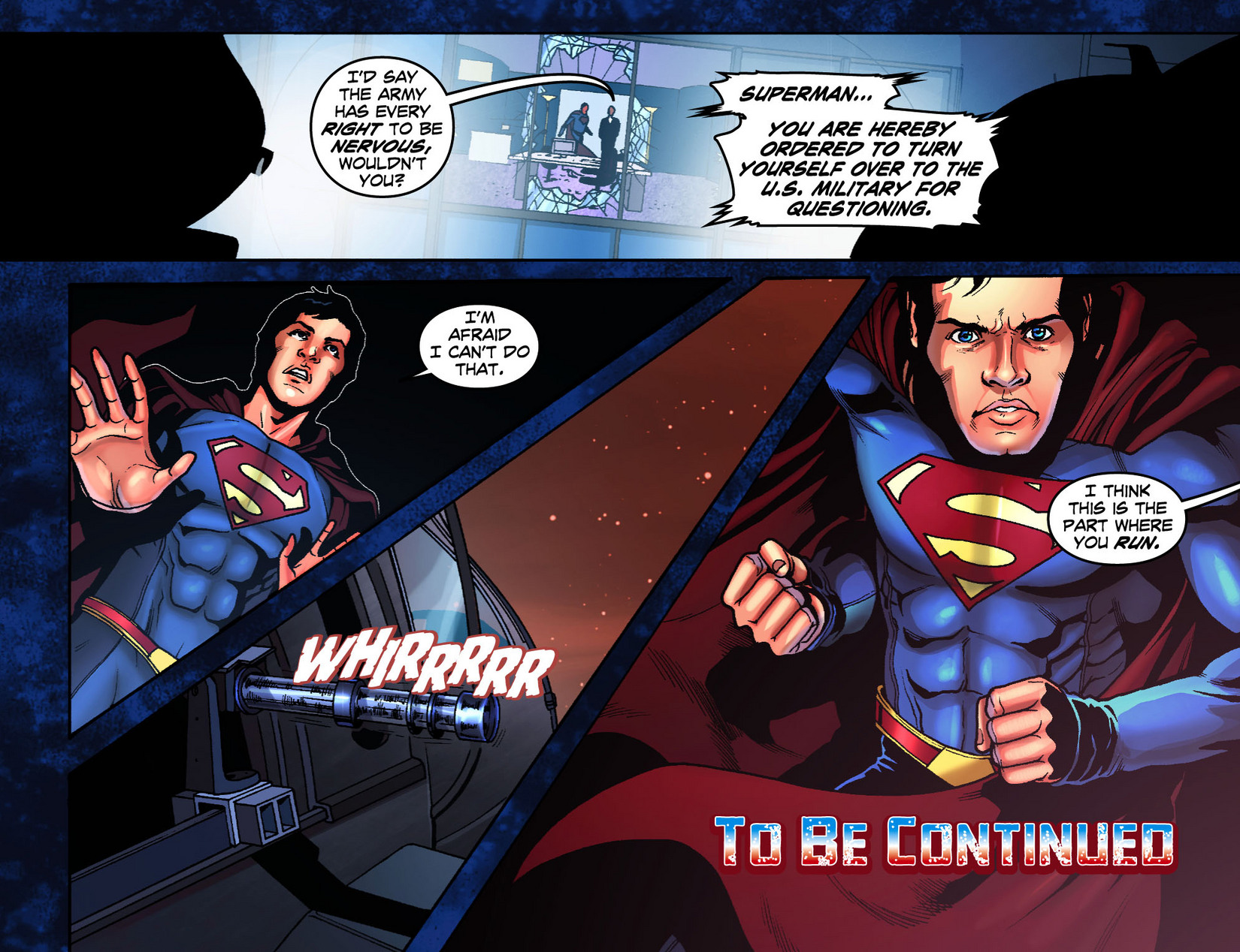 Read online Smallville: Season 11 comic -  Issue #7 - 22