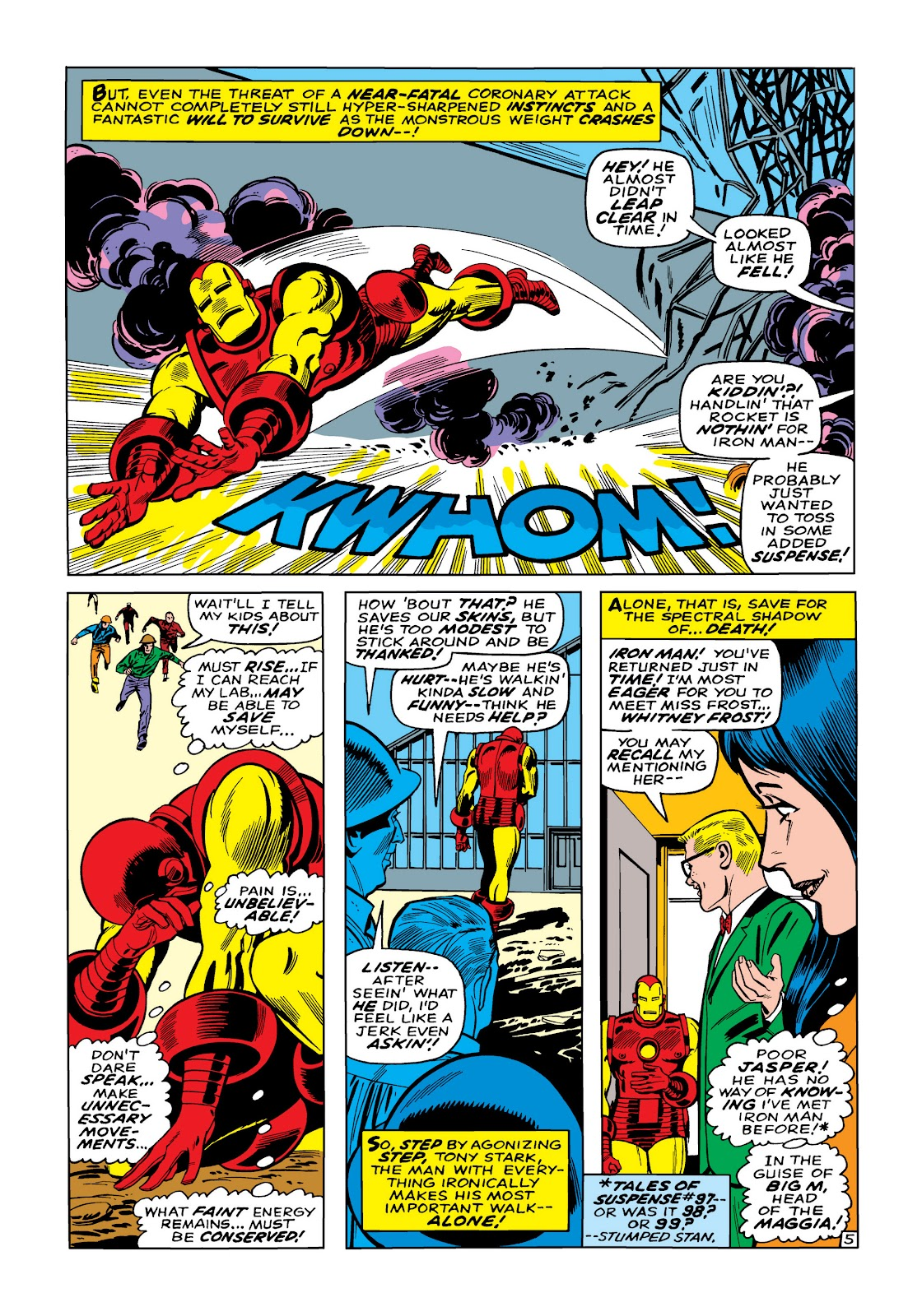 Read online Marvel Masterworks: The Invincible Iron Man comic -  Issue # TPB 5 (Part 1) - 33