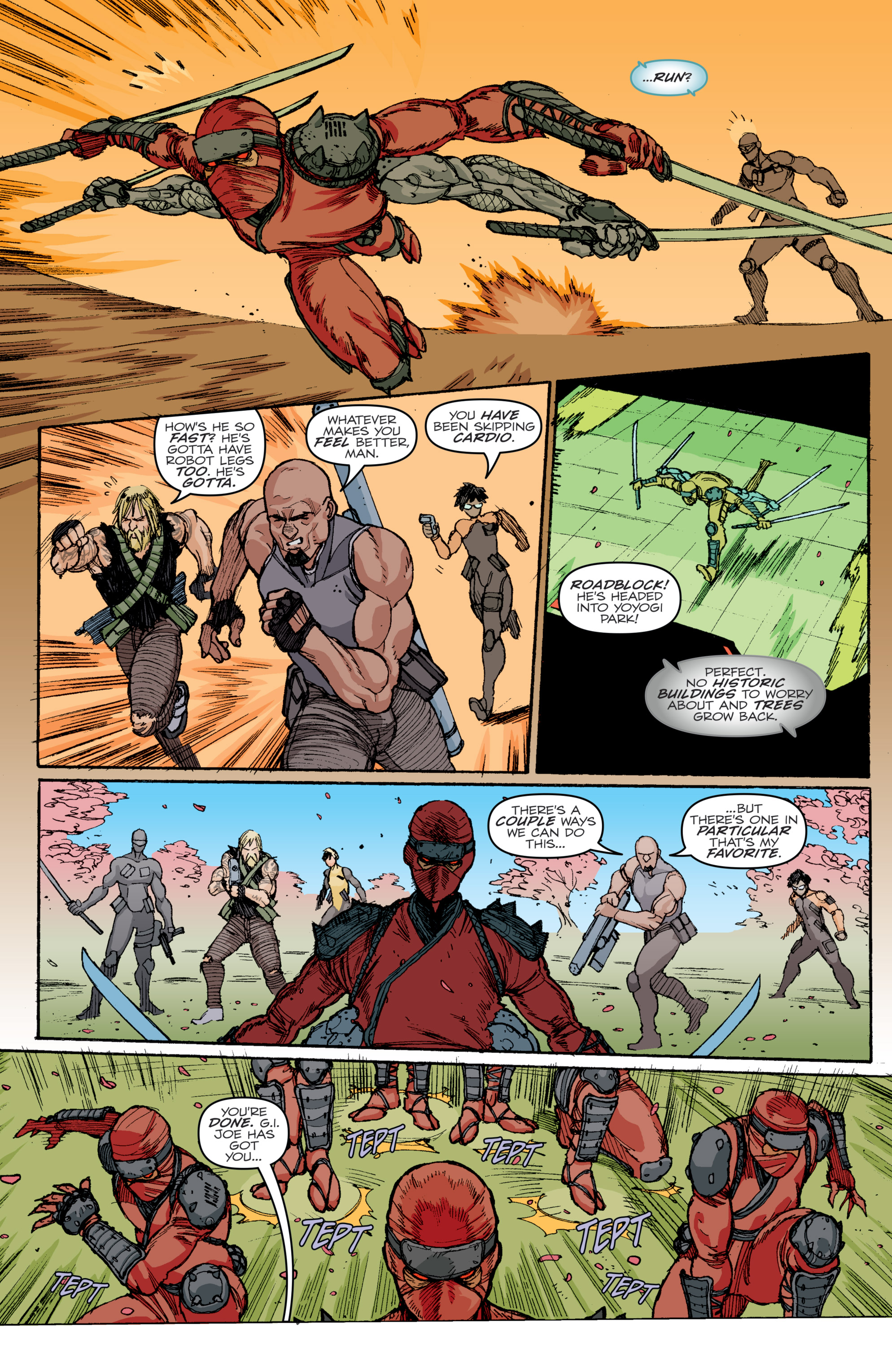 Read online G.I. Joe: A Real American Hero comic -  Issue #240 - 31