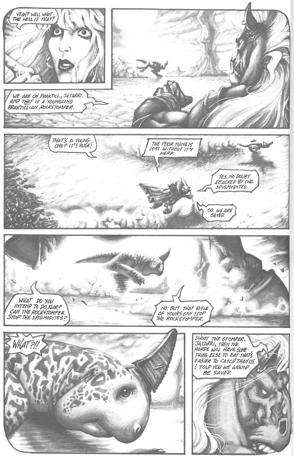 Read online Animal Mystic comic -  Issue #3 - 12
