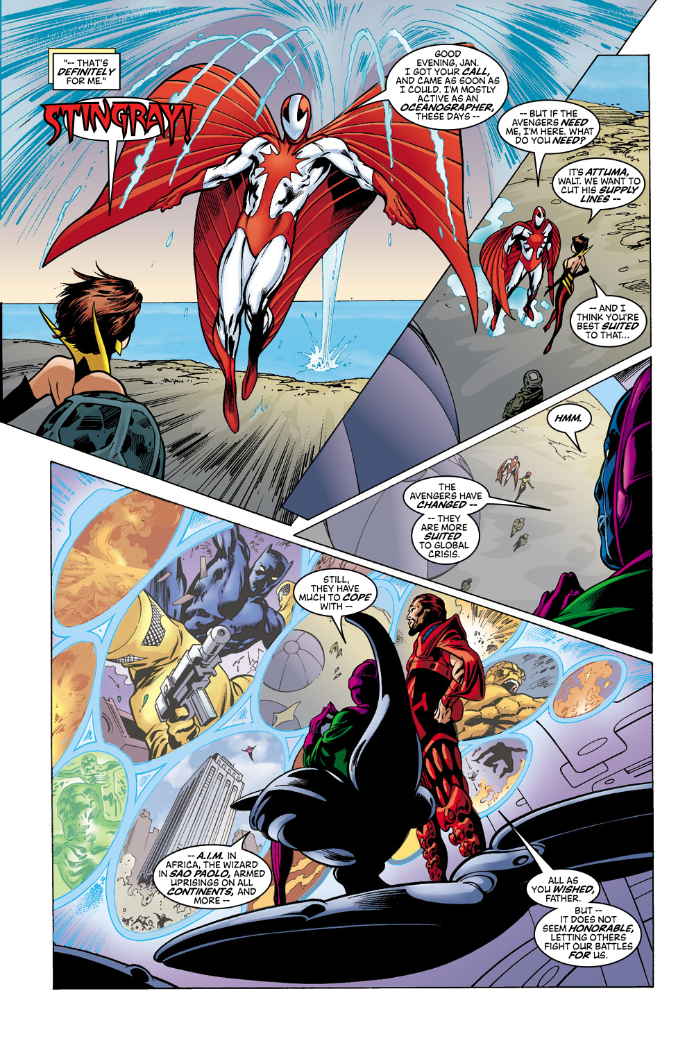 Read online Avengers (1998) comic -  Issue #43 - 17