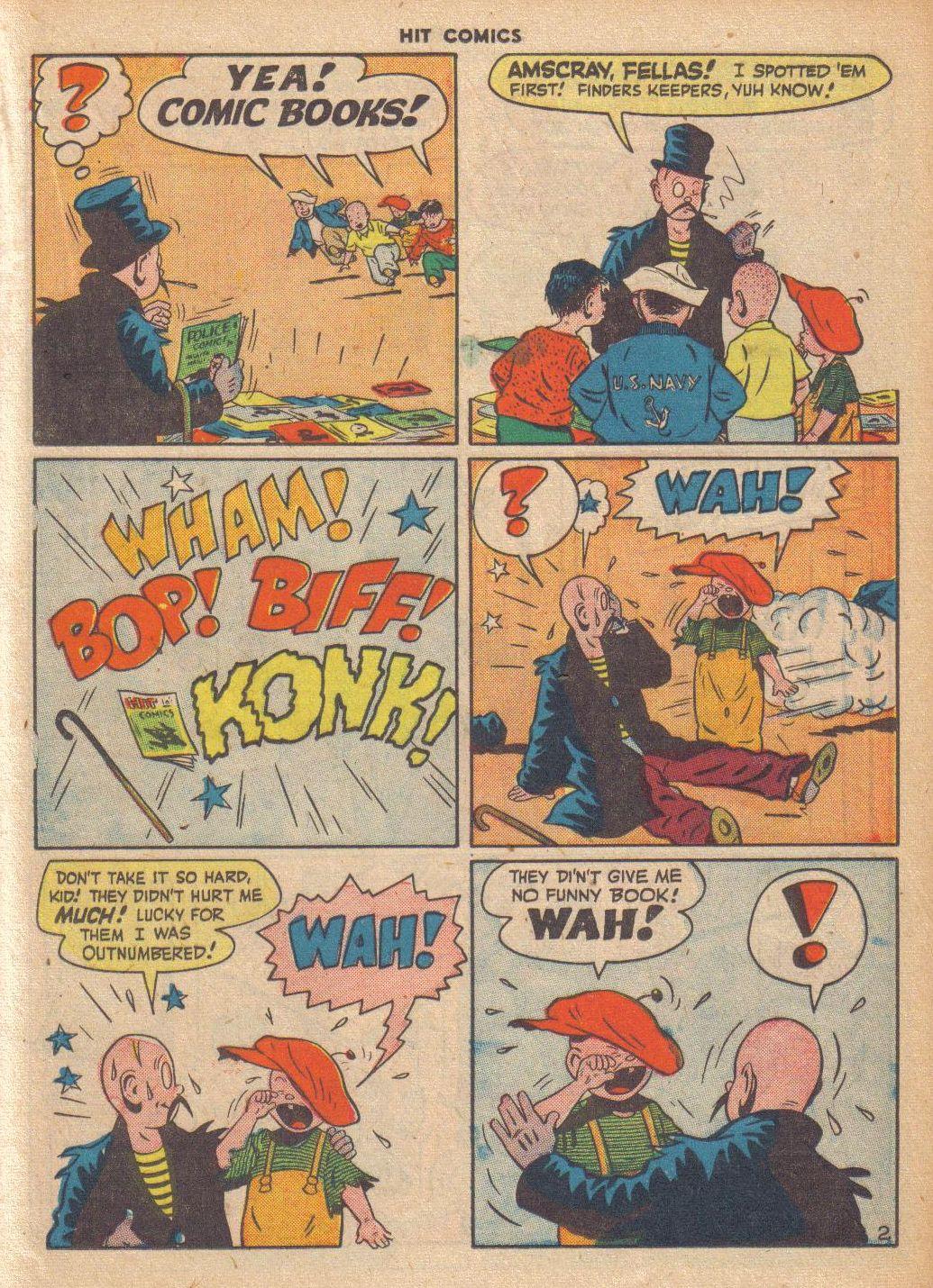 Read online Hit Comics comic -  Issue #46 - 25