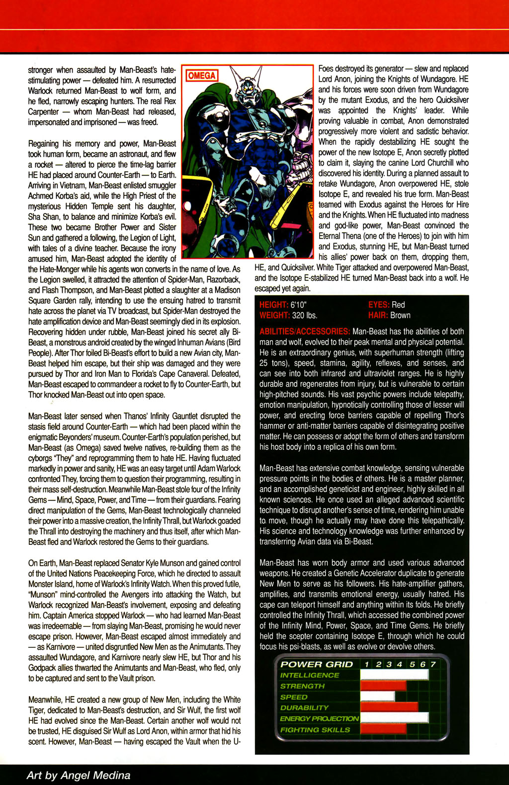 Read online All-New Official Handbook of the Marvel Universe A to Z comic -  Issue #6 - 65