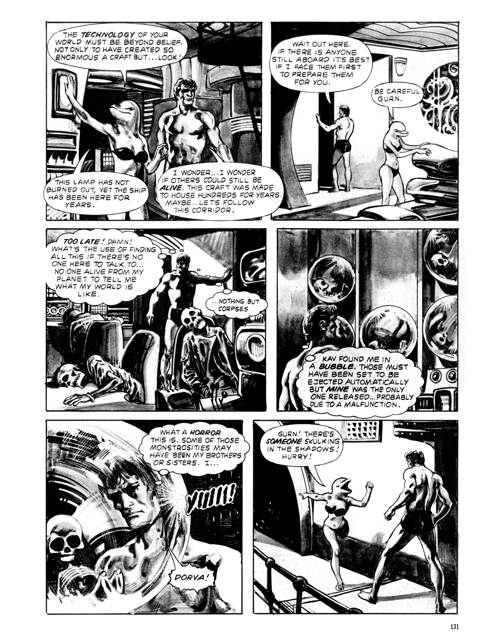 Read online Eerie Archives comic -  Issue # TPB 20 - 131