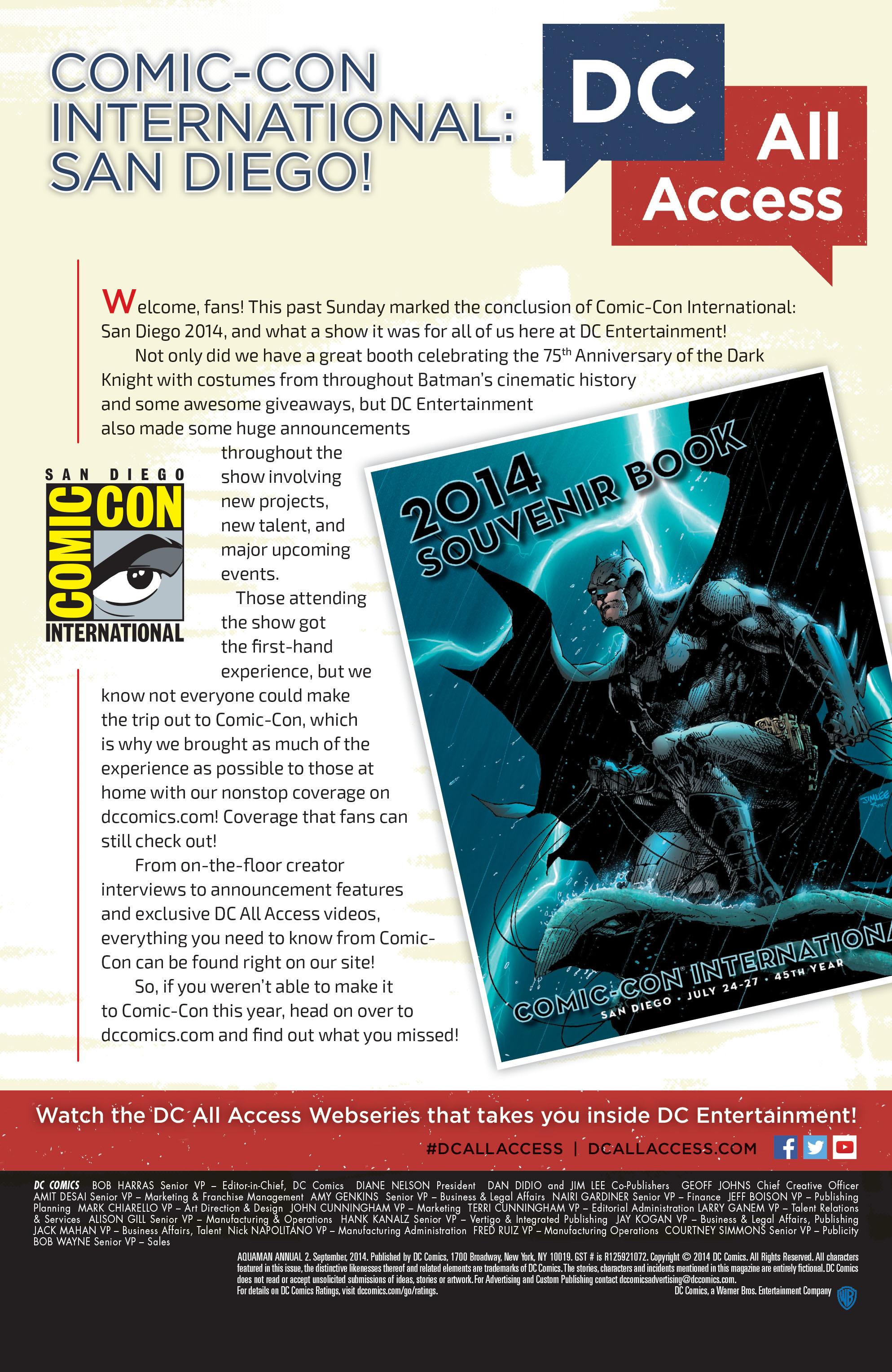 Read online Aquaman (2011) comic -  Issue #Aquaman (2011) _Annual 2 - 40