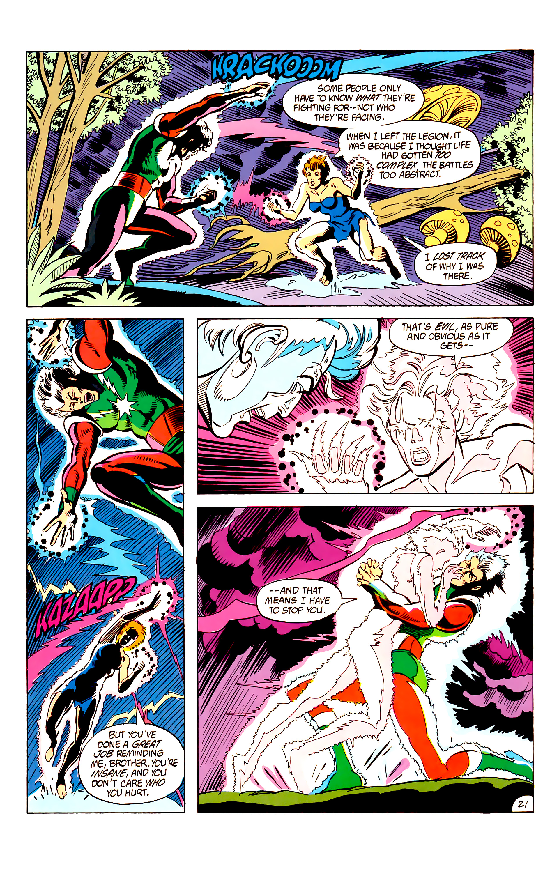 Legion of Super-Heroes (1984) 6 Page 21