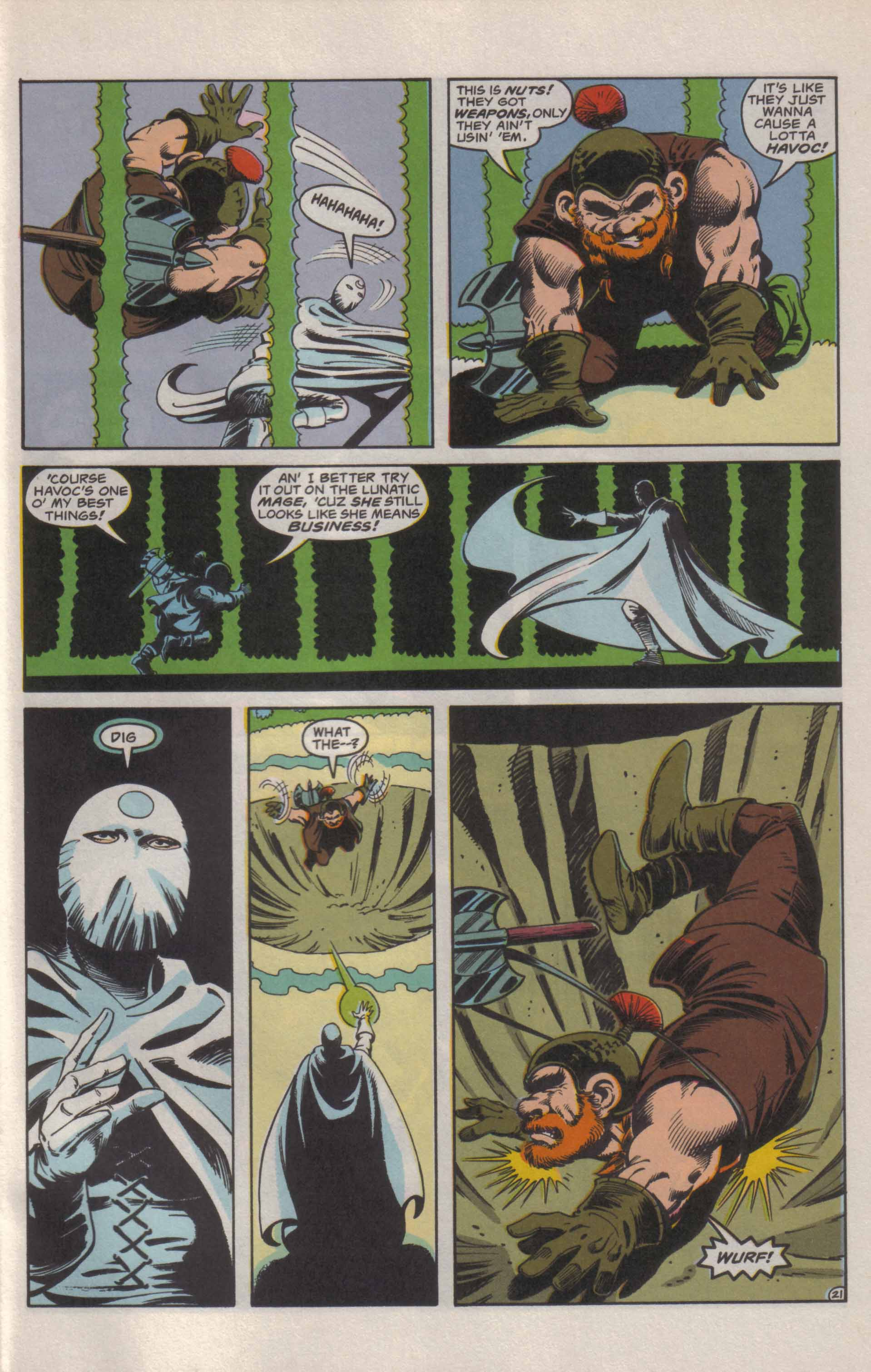 Read online Advanced Dungeons & Dragons comic -  Issue #21 - 22