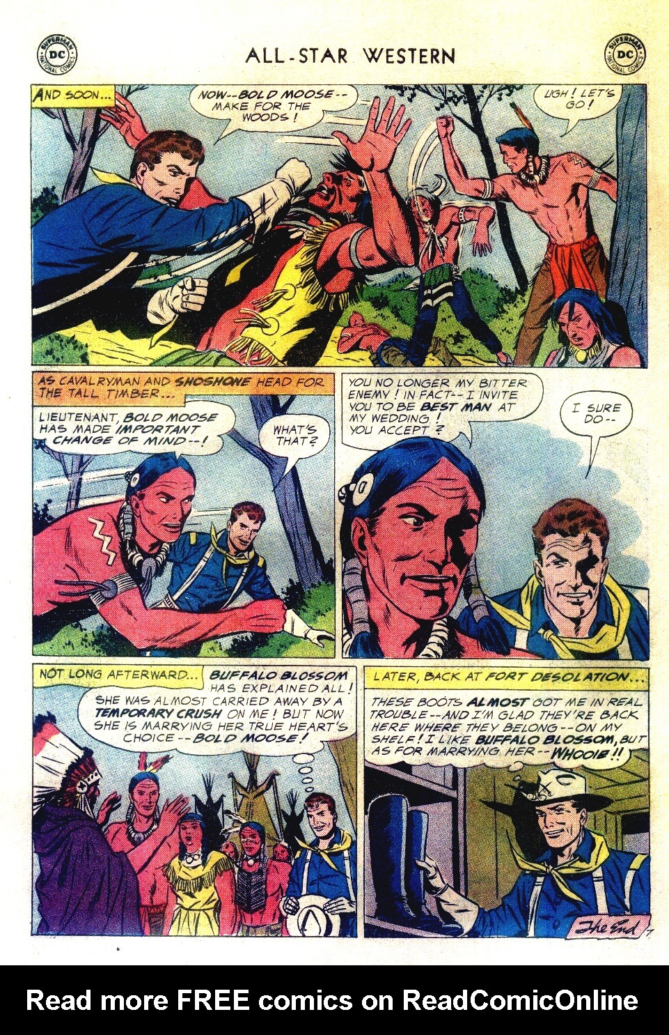 Read online All-Star Western (1951) comic -  Issue #111 - 22