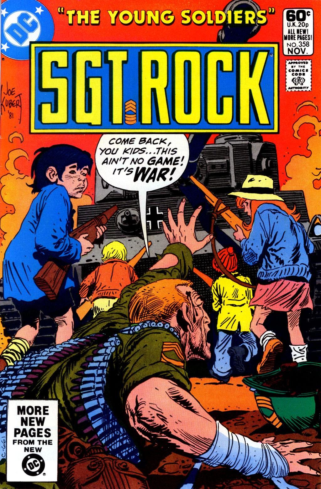 Read online Sgt. Rock comic -  Issue #358 - 1