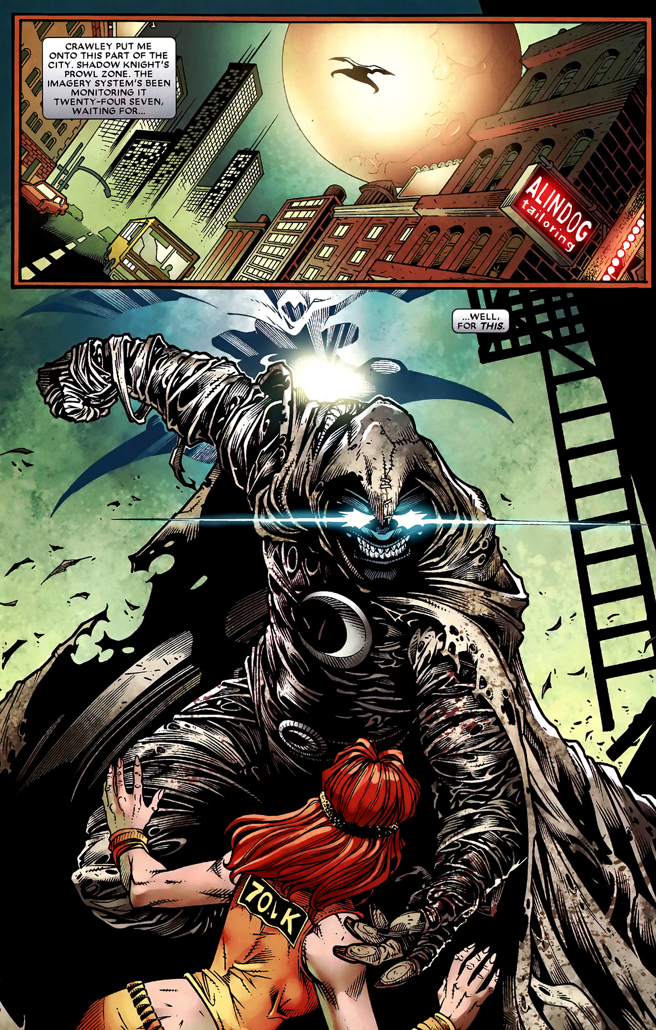 Read online Shadowland: Moon Knight comic -  Issue #2 - 20