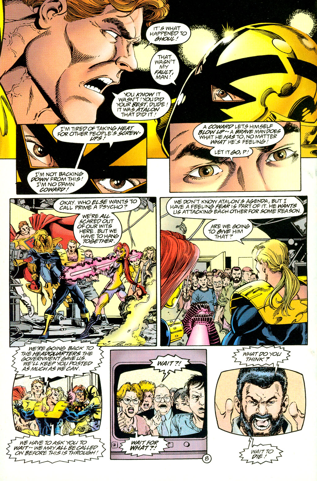 Read online UltraForce (1994) comic -  Issue #4 - 8