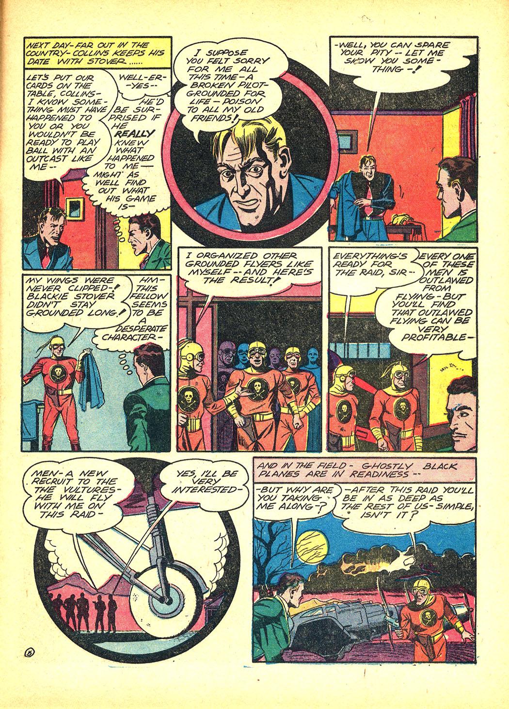 Read online Sensation (Mystery) Comics comic -  Issue #8 - 41