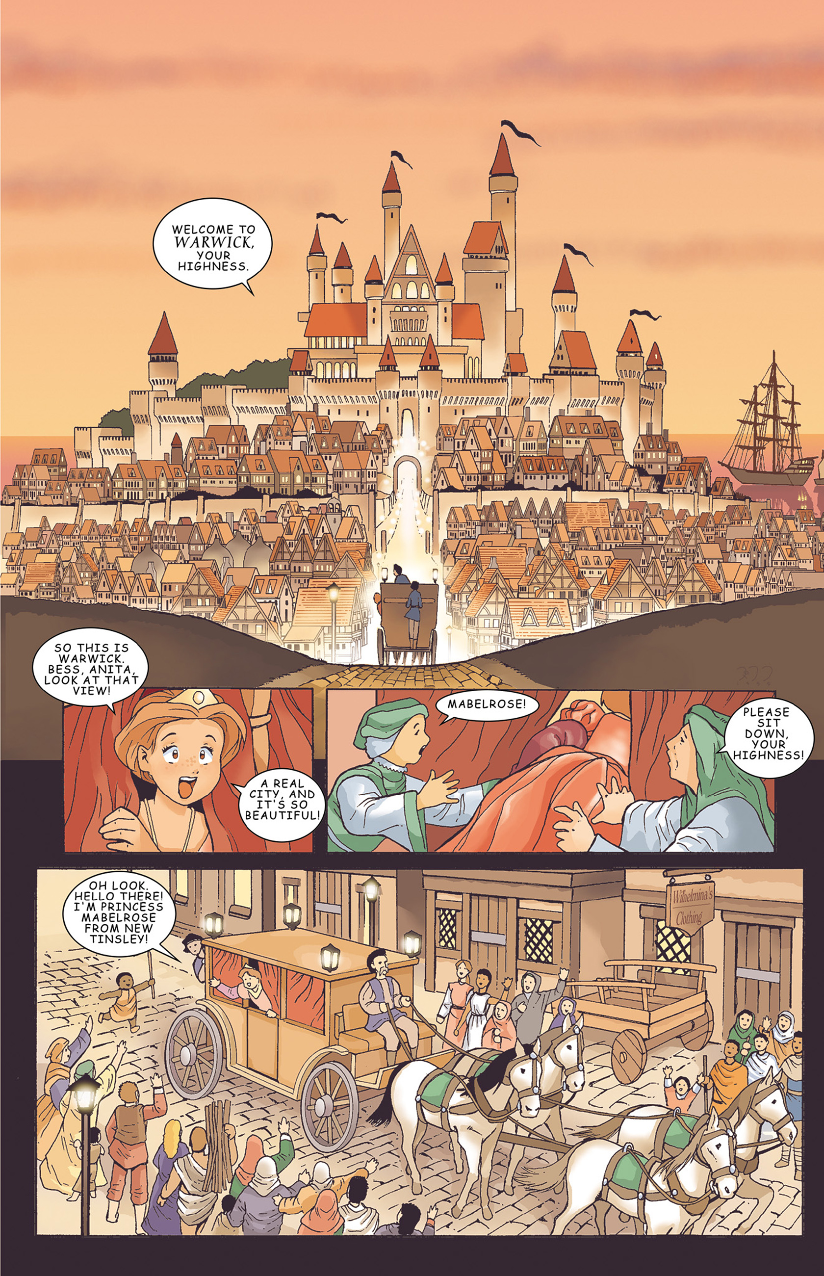 Read online Courageous Princess comic -  Issue # TPB 1 - 24