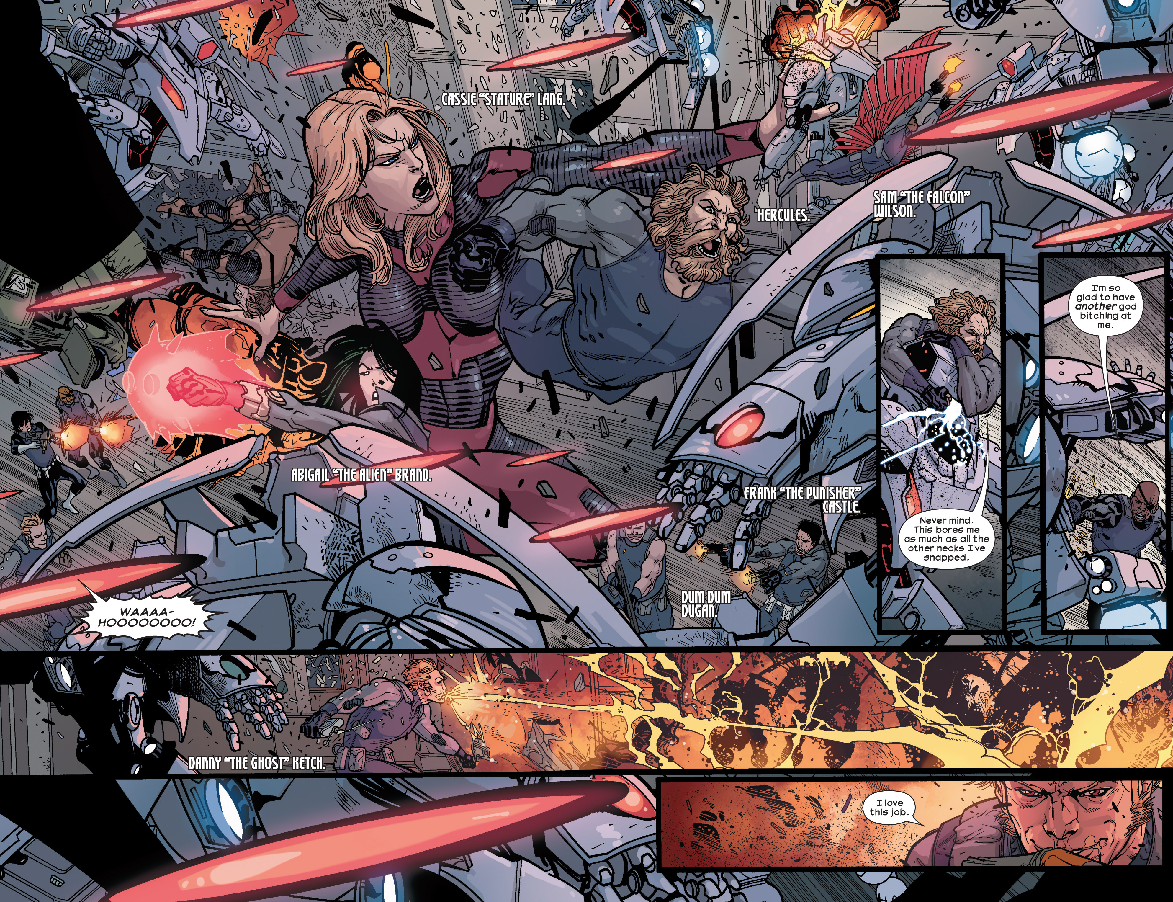 Read online Ultimate Comics Ultimates comic -  Issue #28 - 16