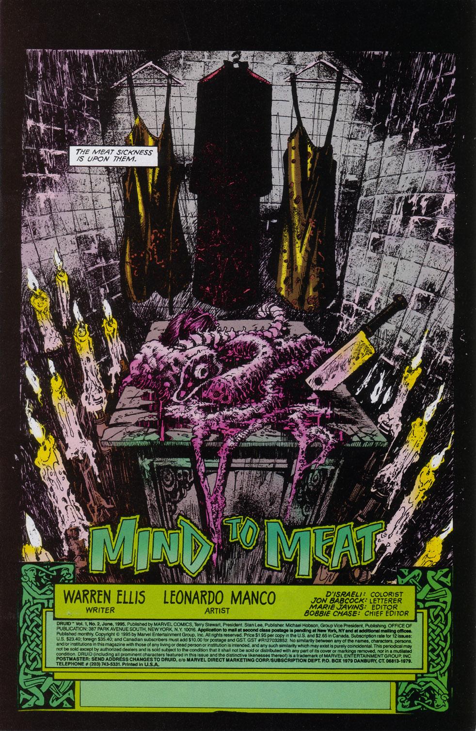 Read online Druid comic -  Issue #2 - 2