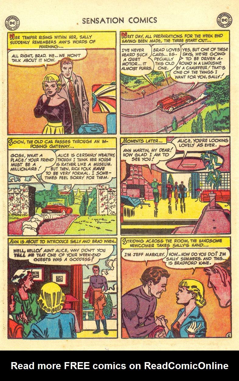 Read online Sensation (Mystery) Comics comic -  Issue #105 - 46