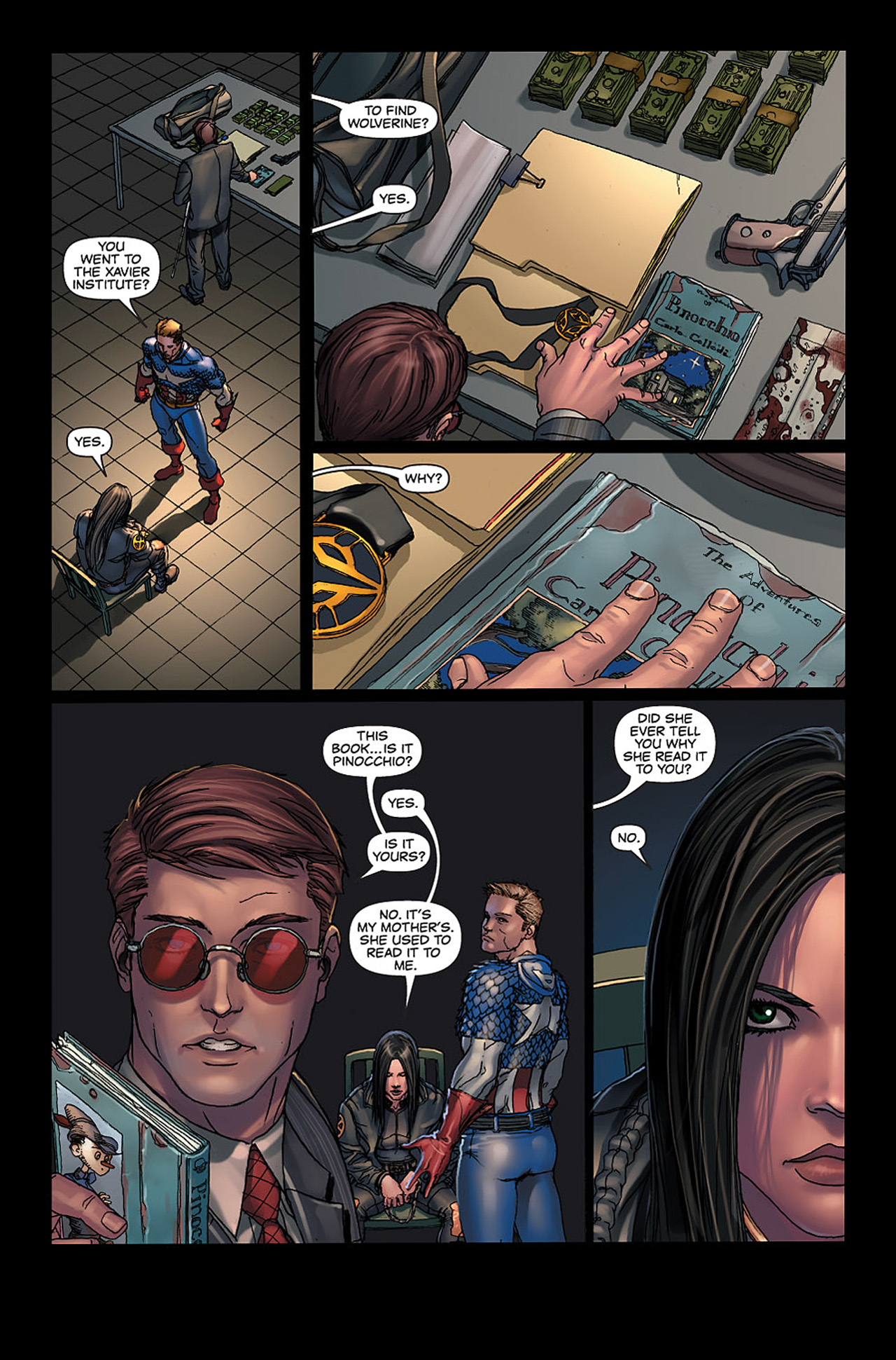 Read online X-23: Target X comic -  Issue #6 - 2