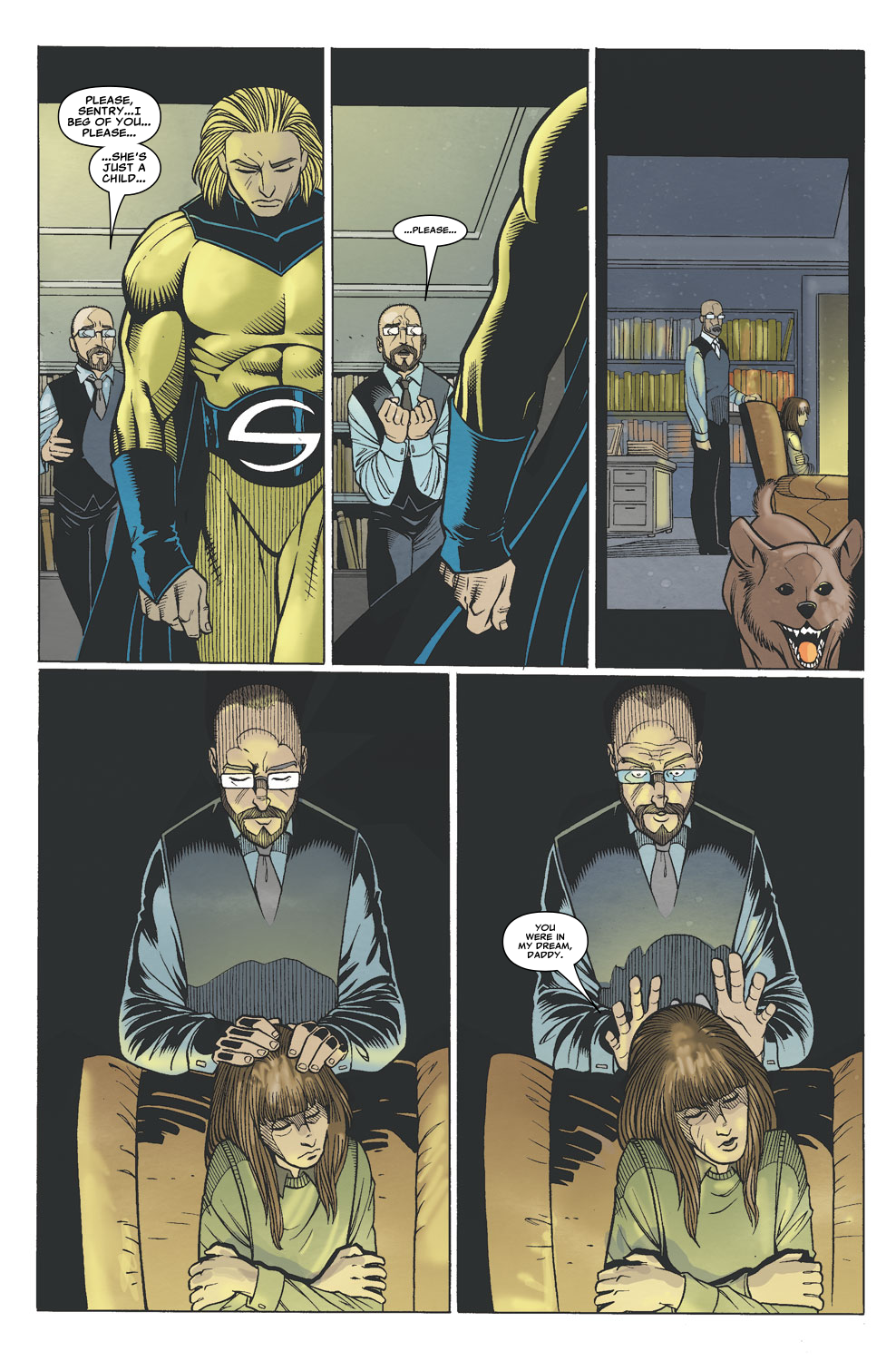 Read online Sentry (2006) comic -  Issue #6 - 19