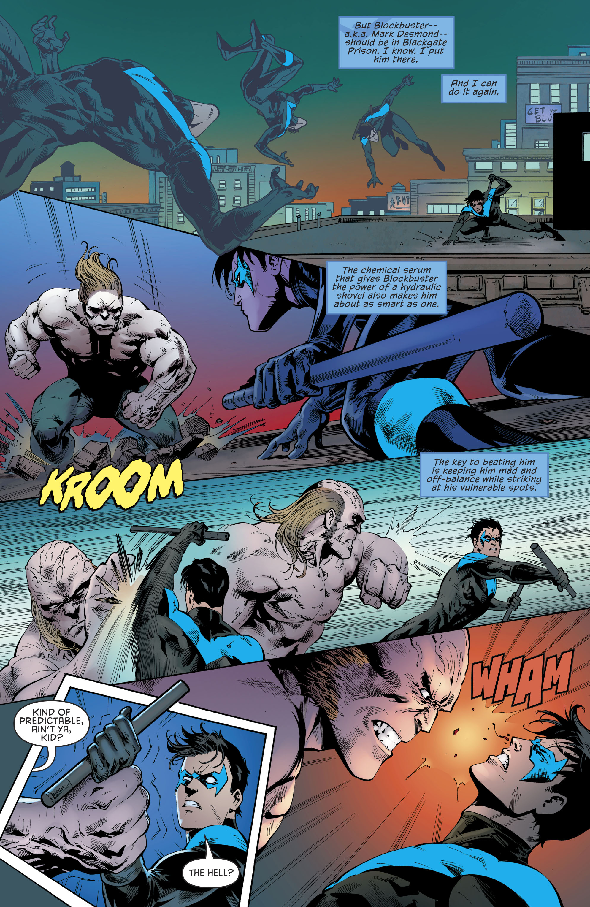 Read online Nightwing (2016) comic -  Issue #22 - 21